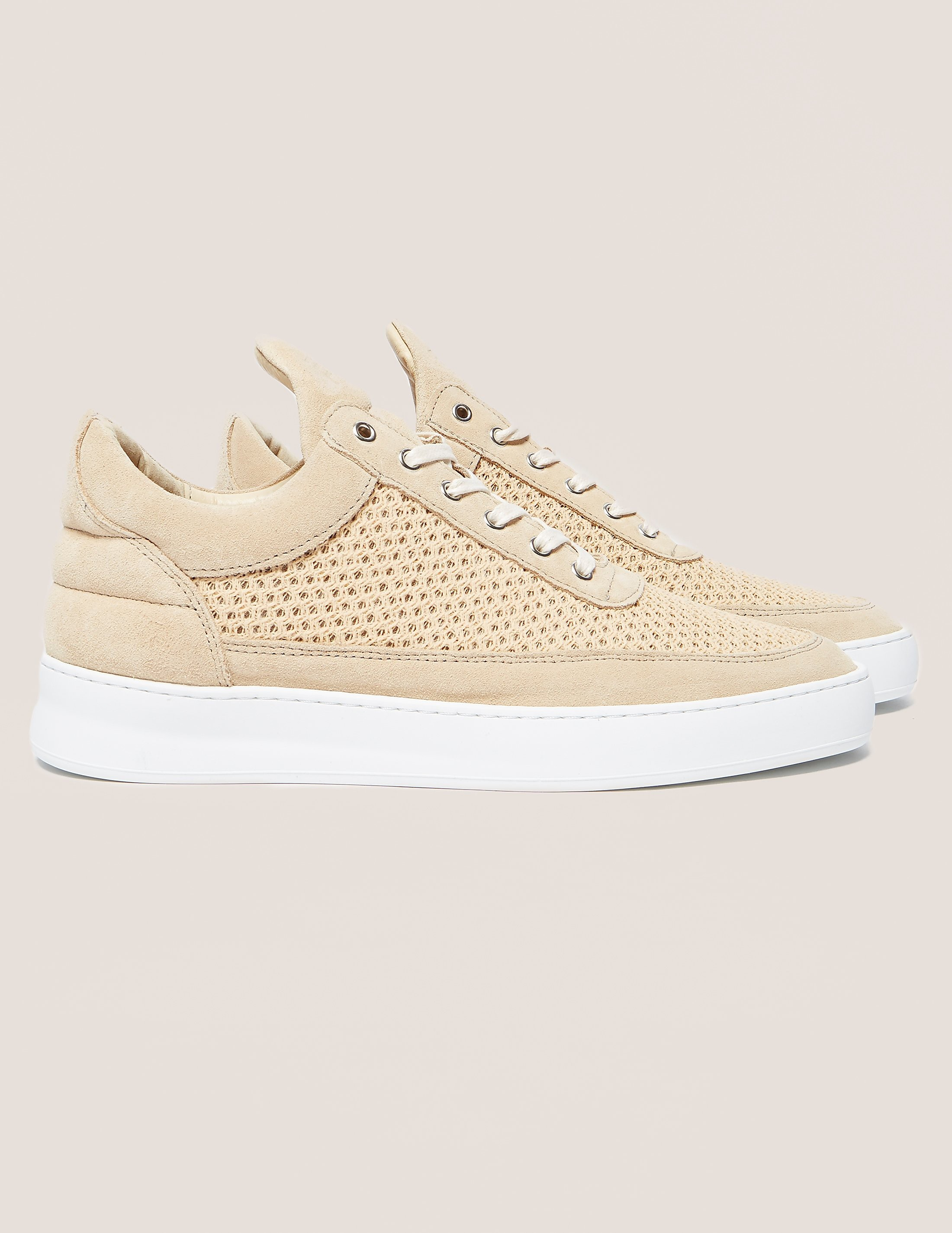 Filling Pieces Low Top Mesh