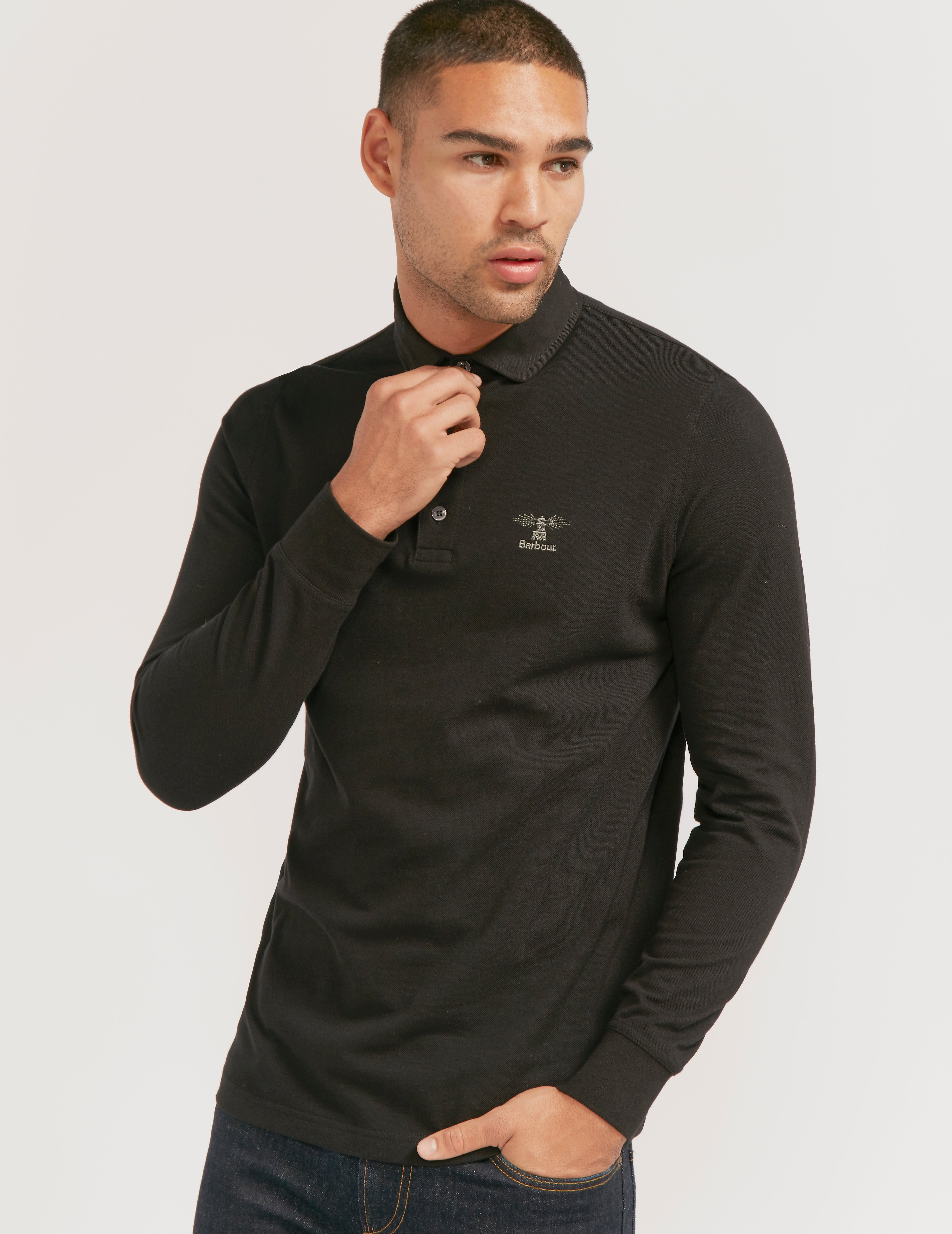 Barbour P Standard long Sleeve Polo