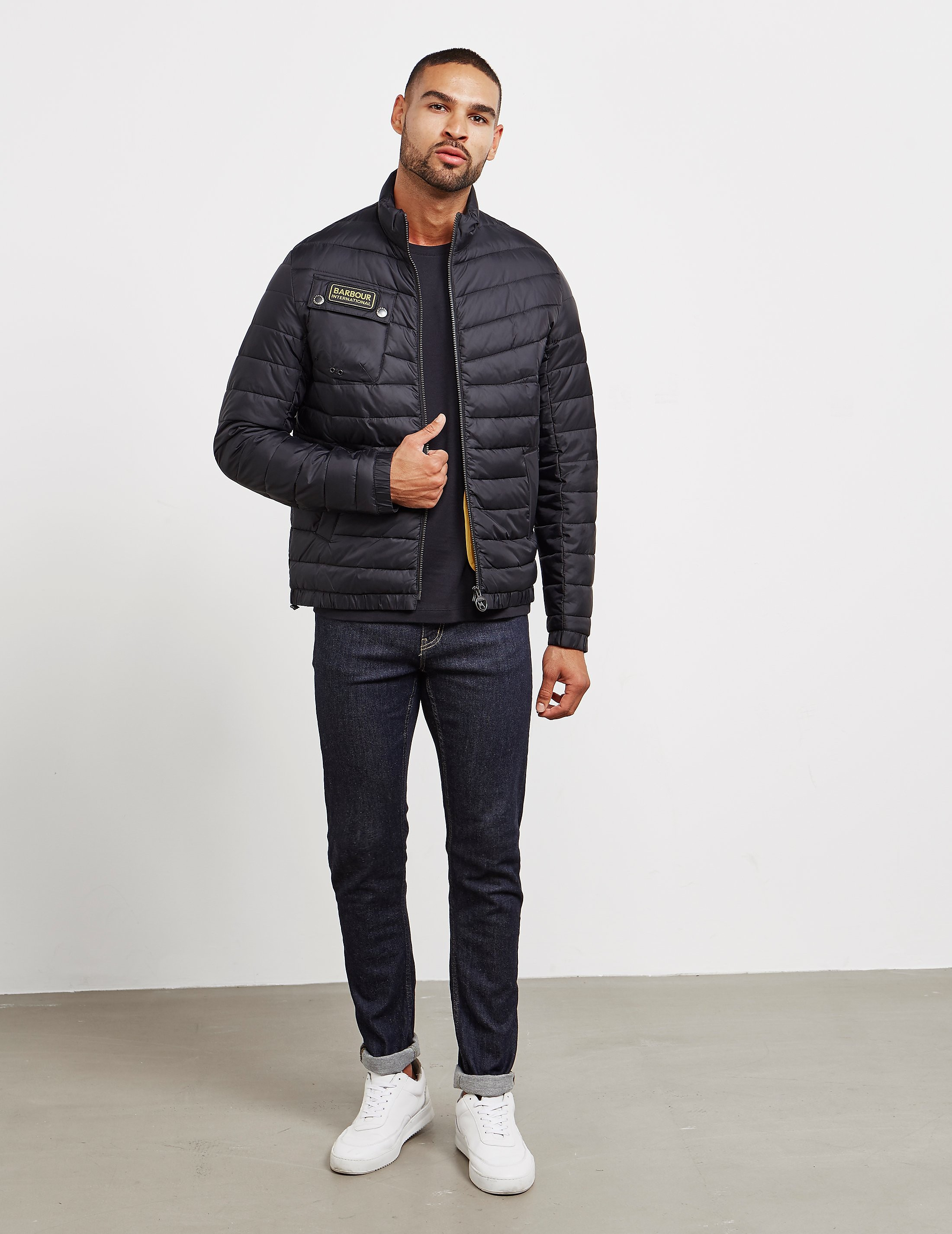 Barbour Chain Baffle Quilted Jacket