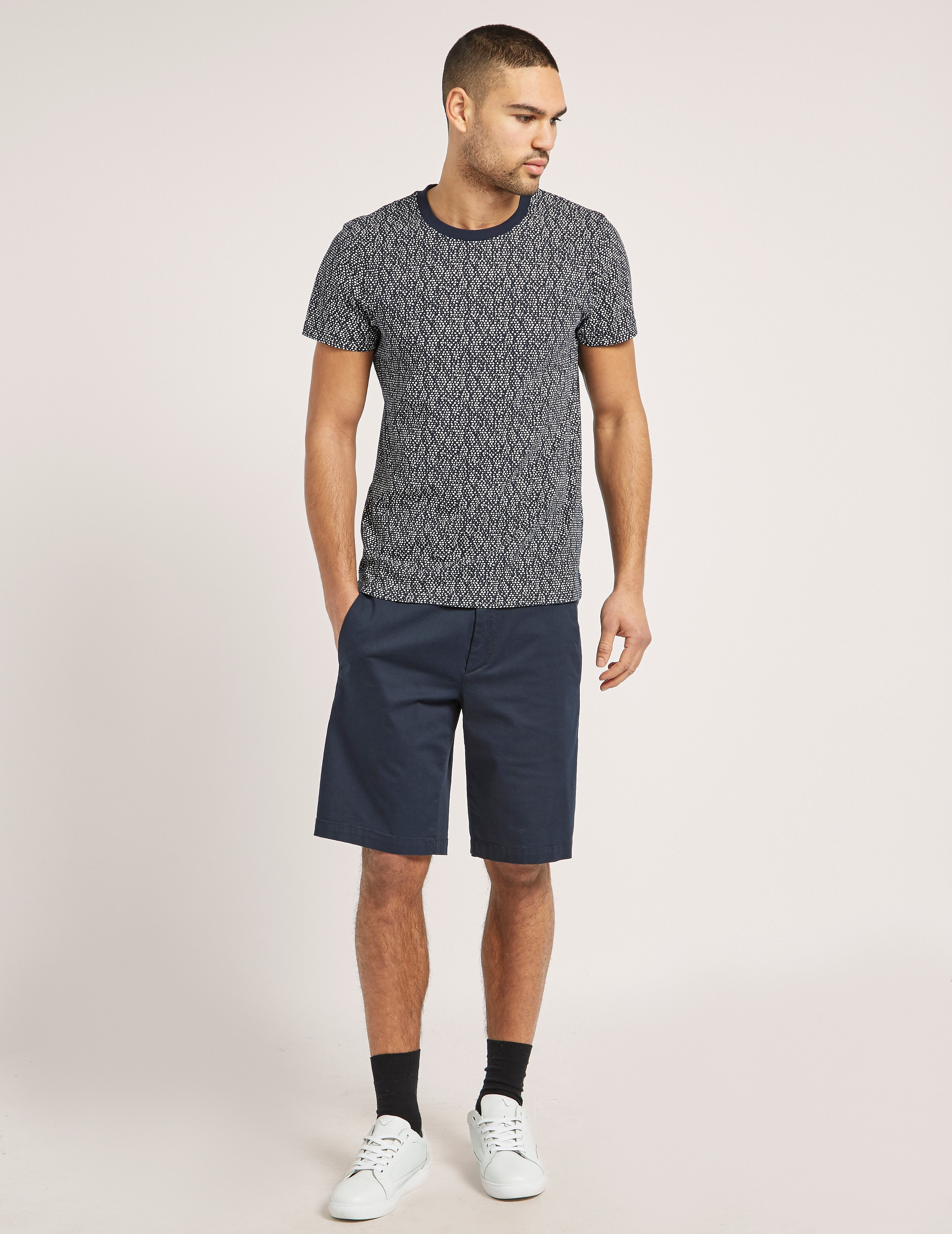 Samsoe & Samsoe Blue Dot Short Sleeve T-Shirt