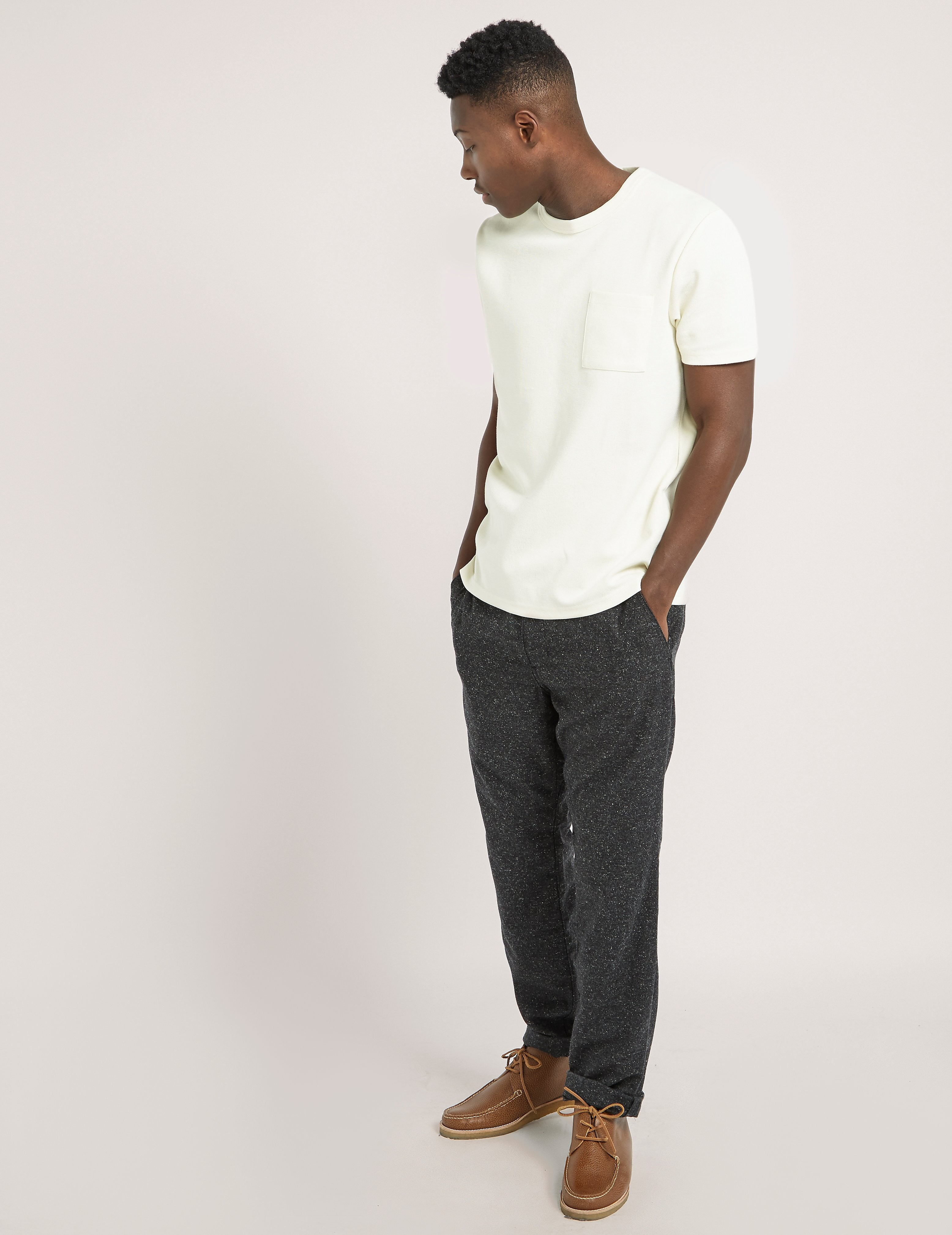 Samsoe & Samsoe Pique Pocket Short Sleeve T-Shirt