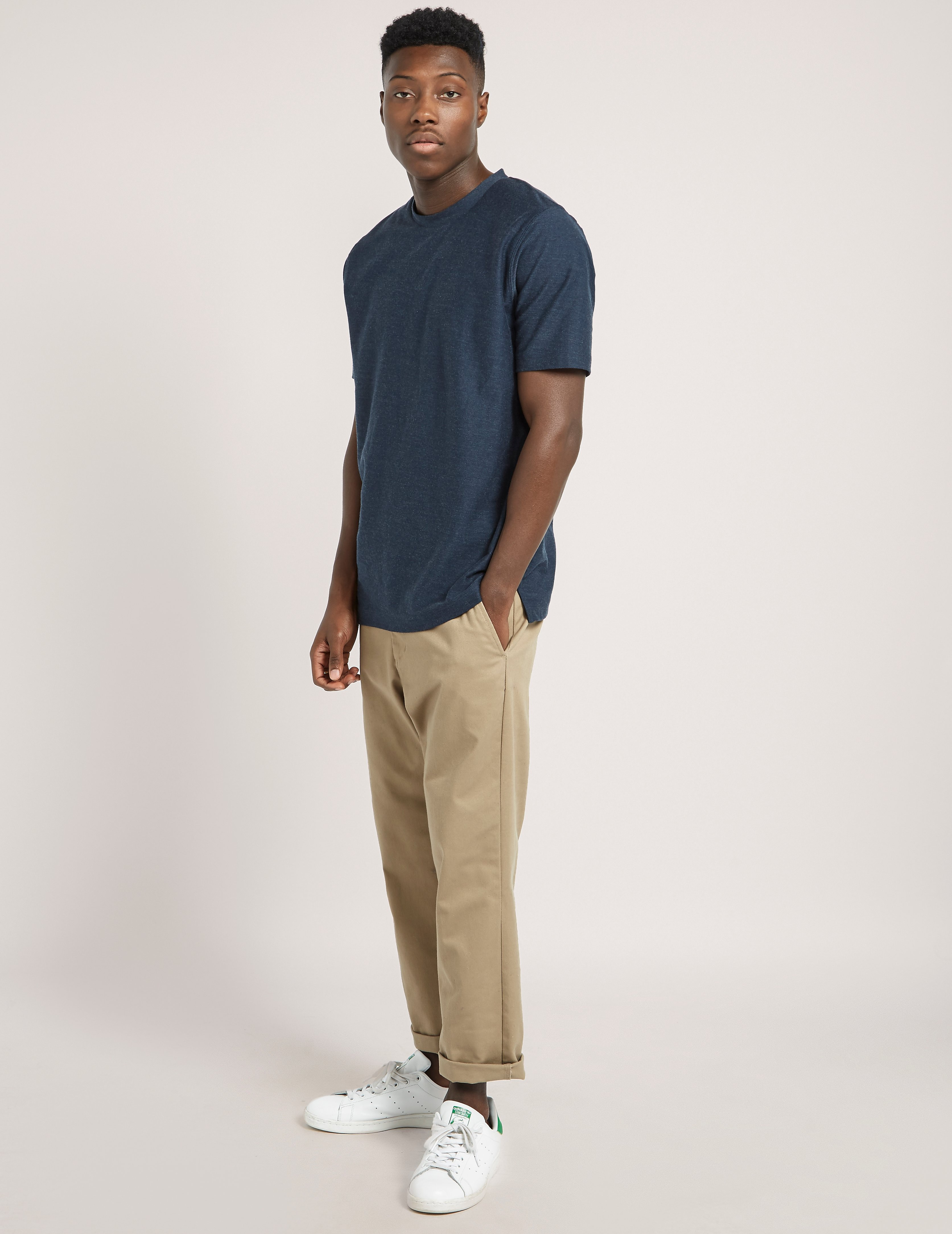 Samsoe & Samsoe Subtle Stripe Short Sleeve T-Shirt