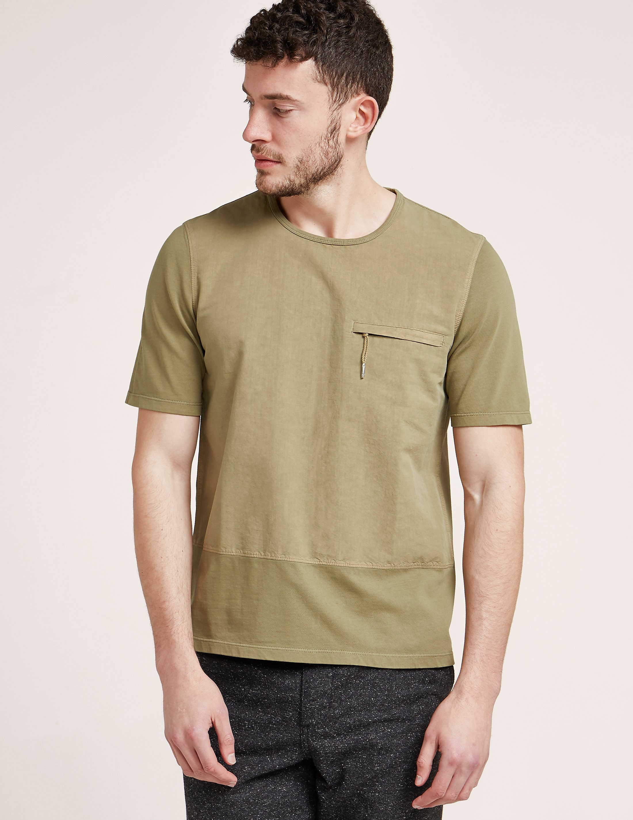 Folk Combination Short Sleeve T-Shirt