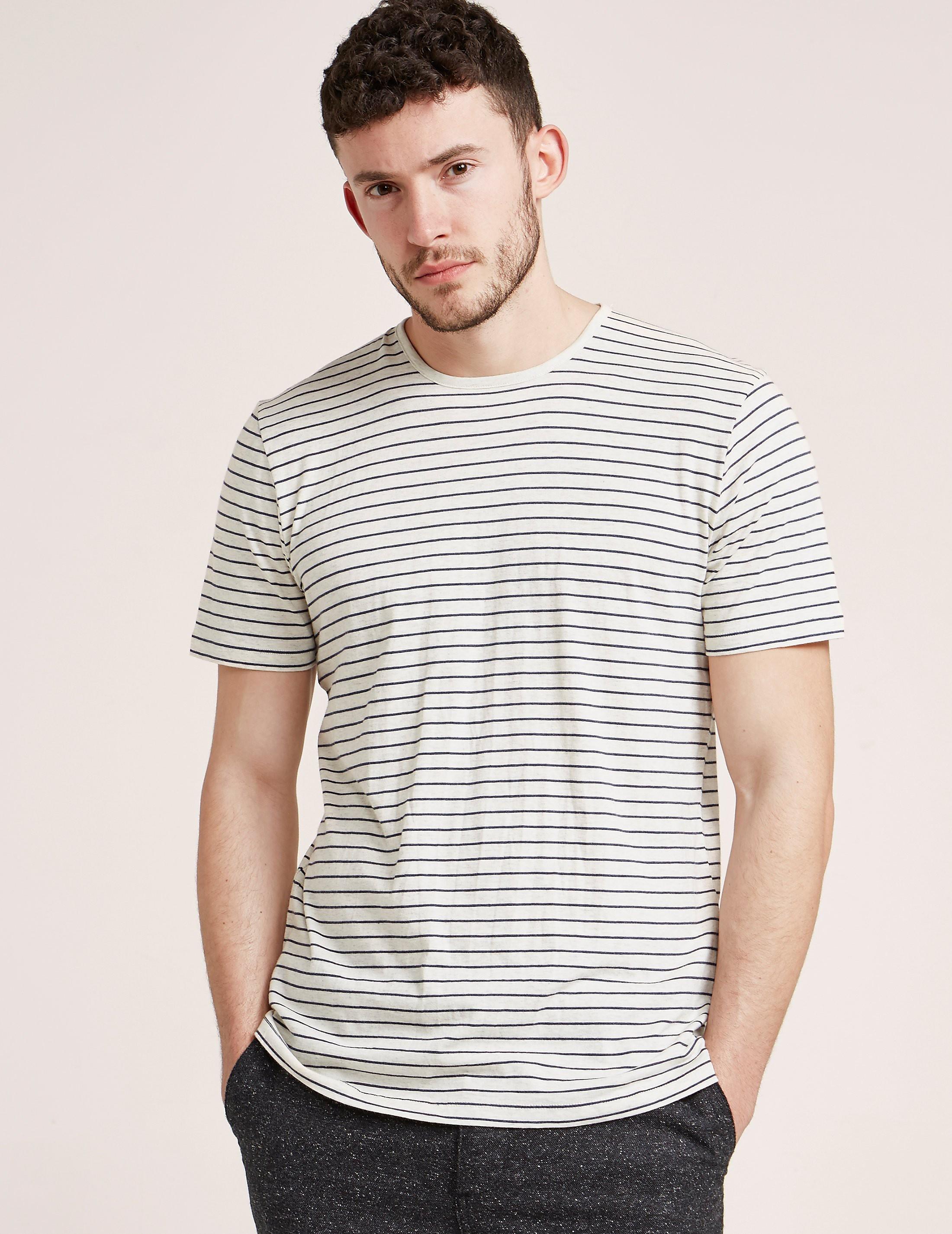 Folk Stripe Short Sleeve T-Shirt