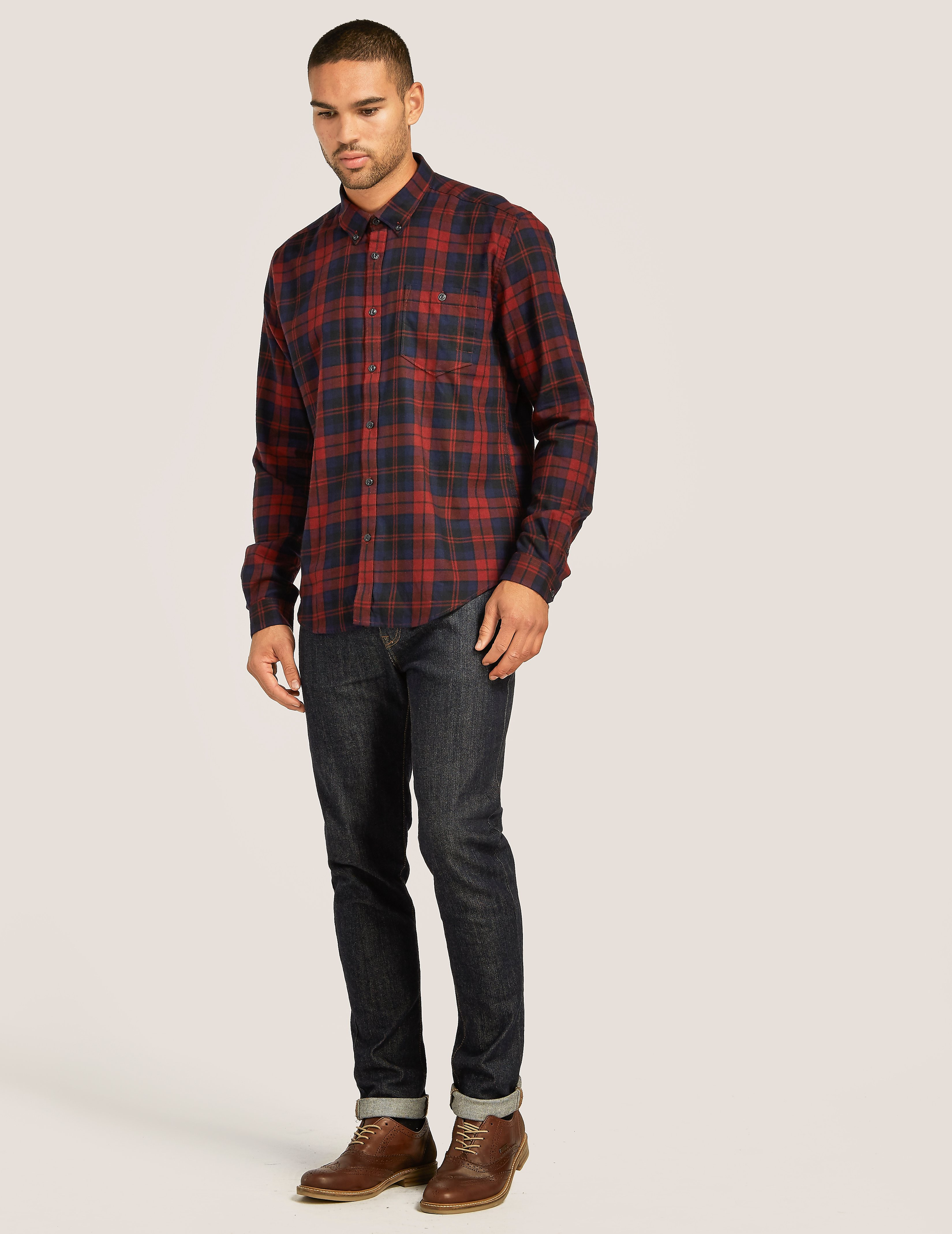 Barbour Pairlie Shirt Red
