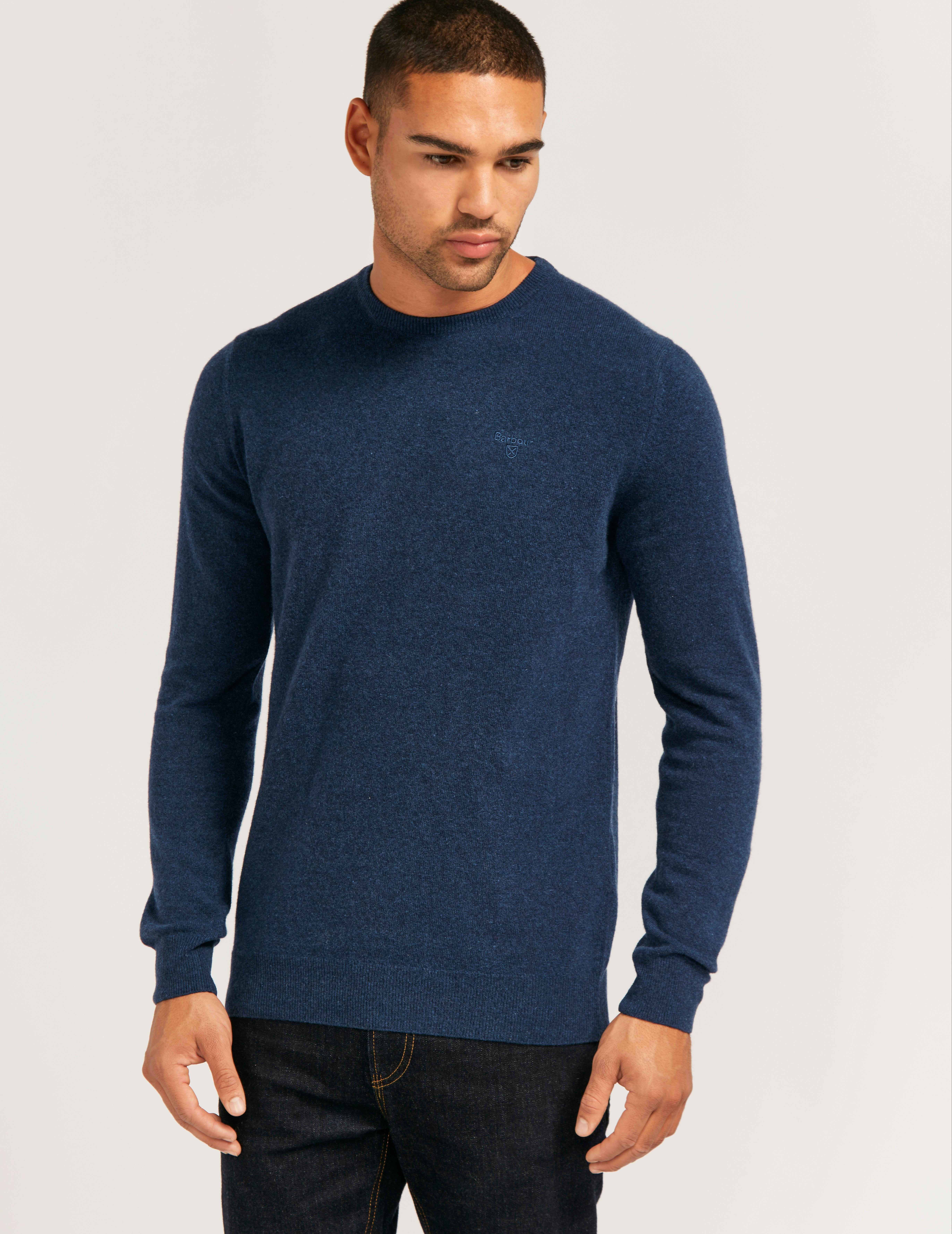 Barbour Wool Crew Knit