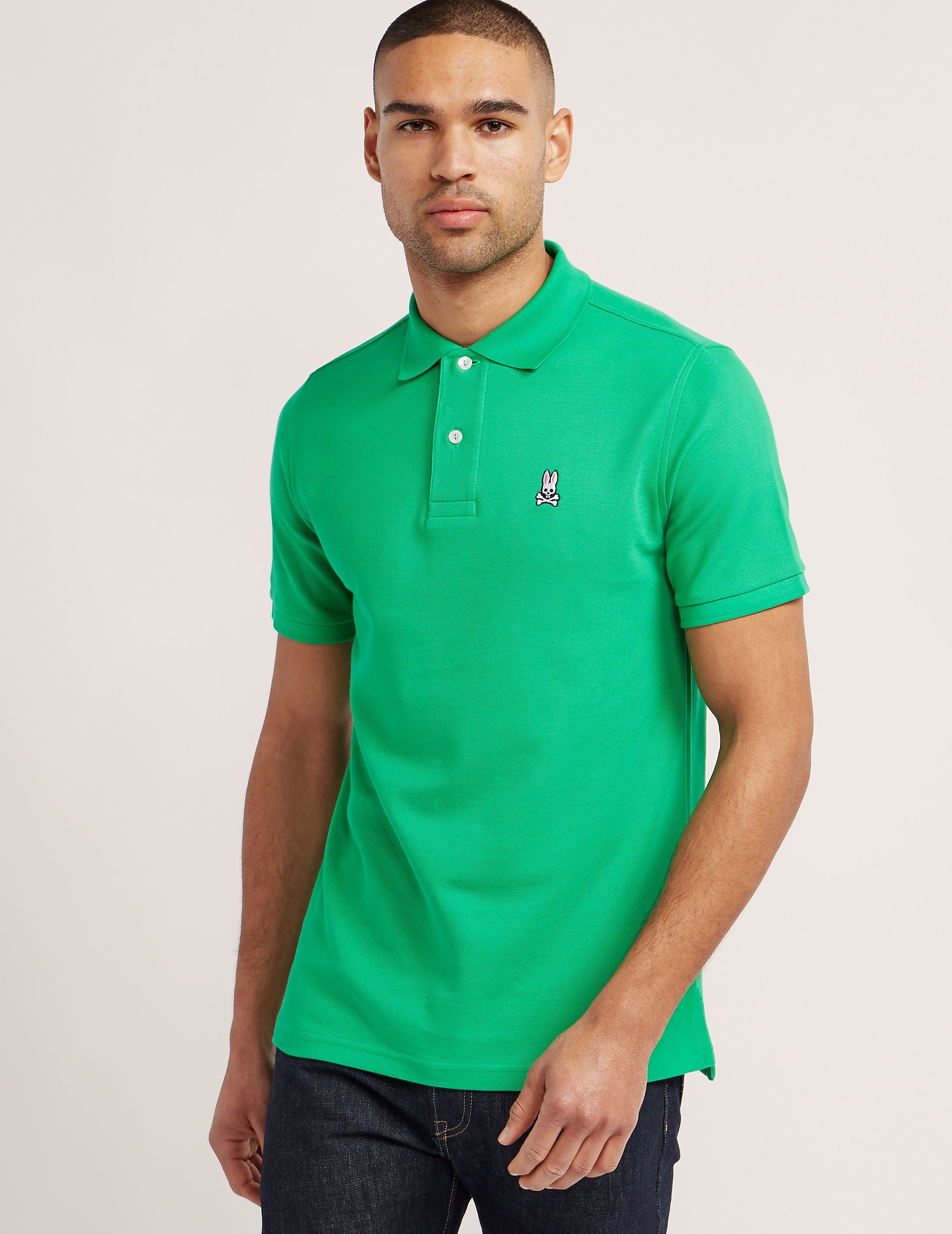 Psycho Bunny Basic Short Sleeve Polo Shirt