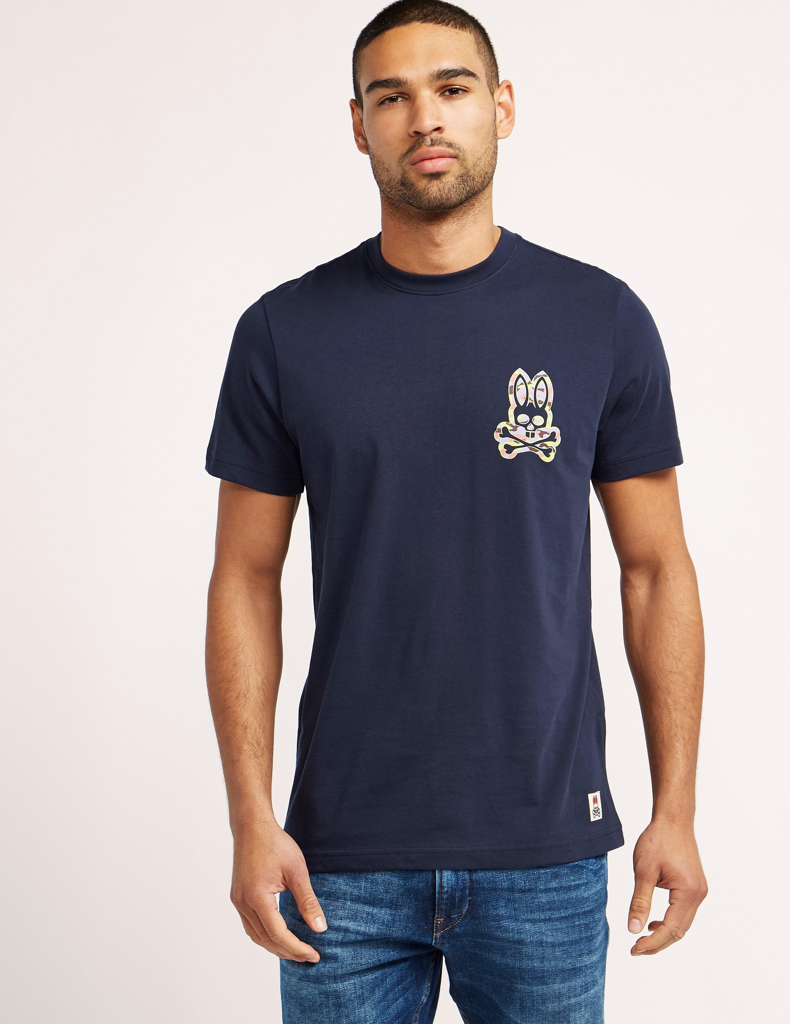 Psycho Bunny Camo Bunny T-Shirt