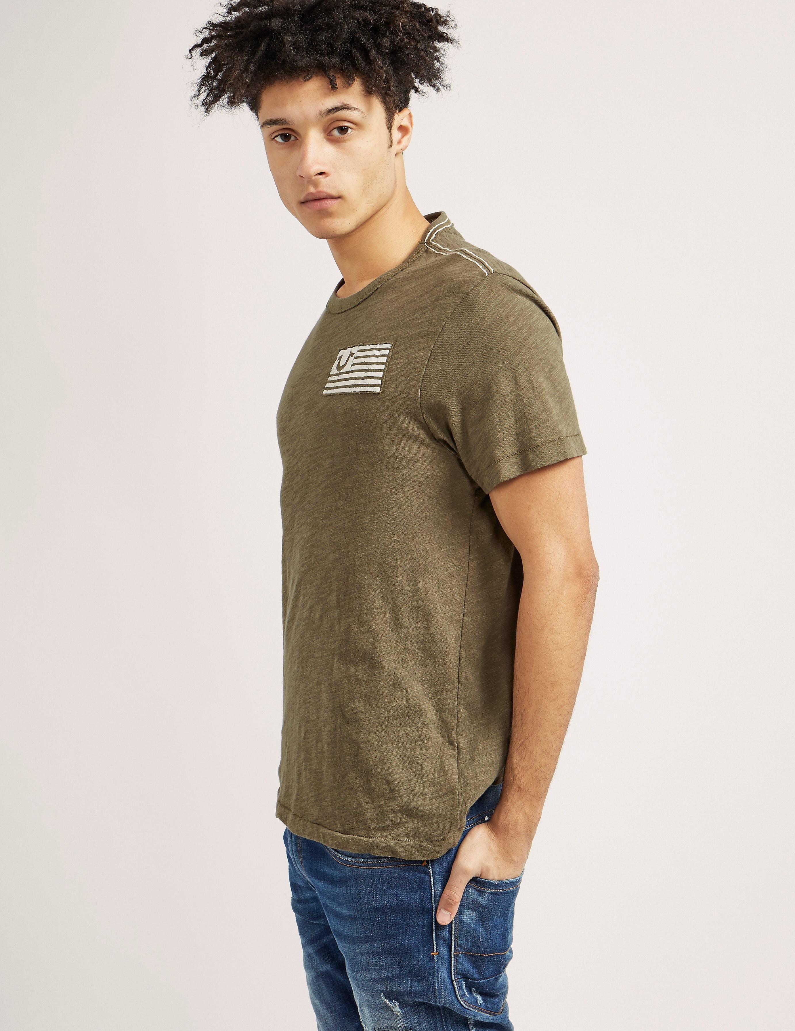 True Religion Flag Short Sleeve T-Shirt
