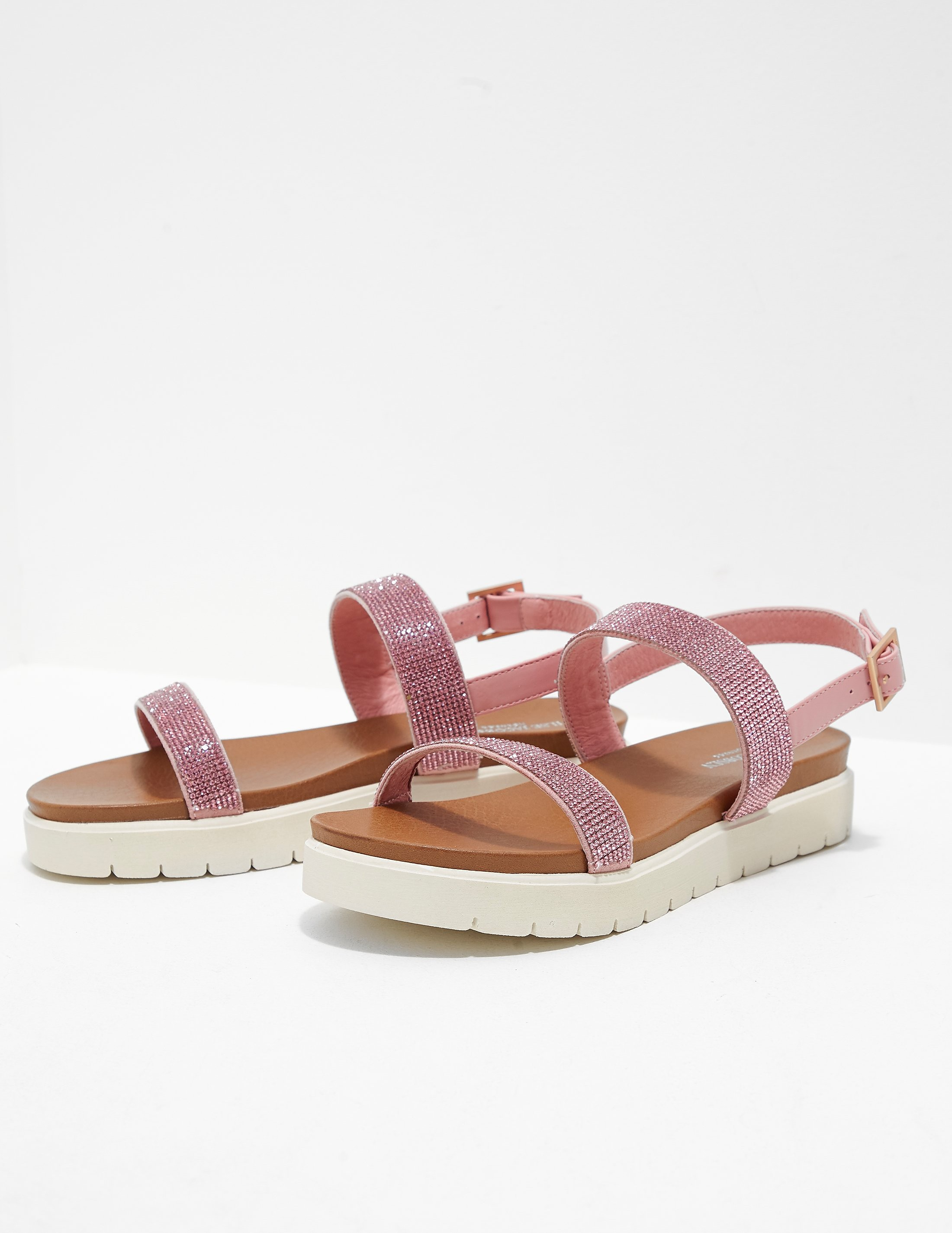 Ilse Jacobsen Diamante Strap Sandals