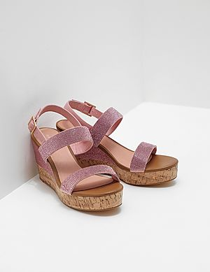 786bf7cdcafc1b Ilse Jacobsen Poppy Diamante Wedge Sandals ...