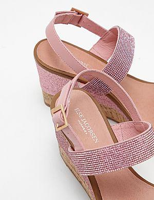 628d4dc4bb0477 Ilse Jacobsen Poppy Diamante Wedge Sandals Ilse Jacobsen Poppy Diamante Wedge  Sandals