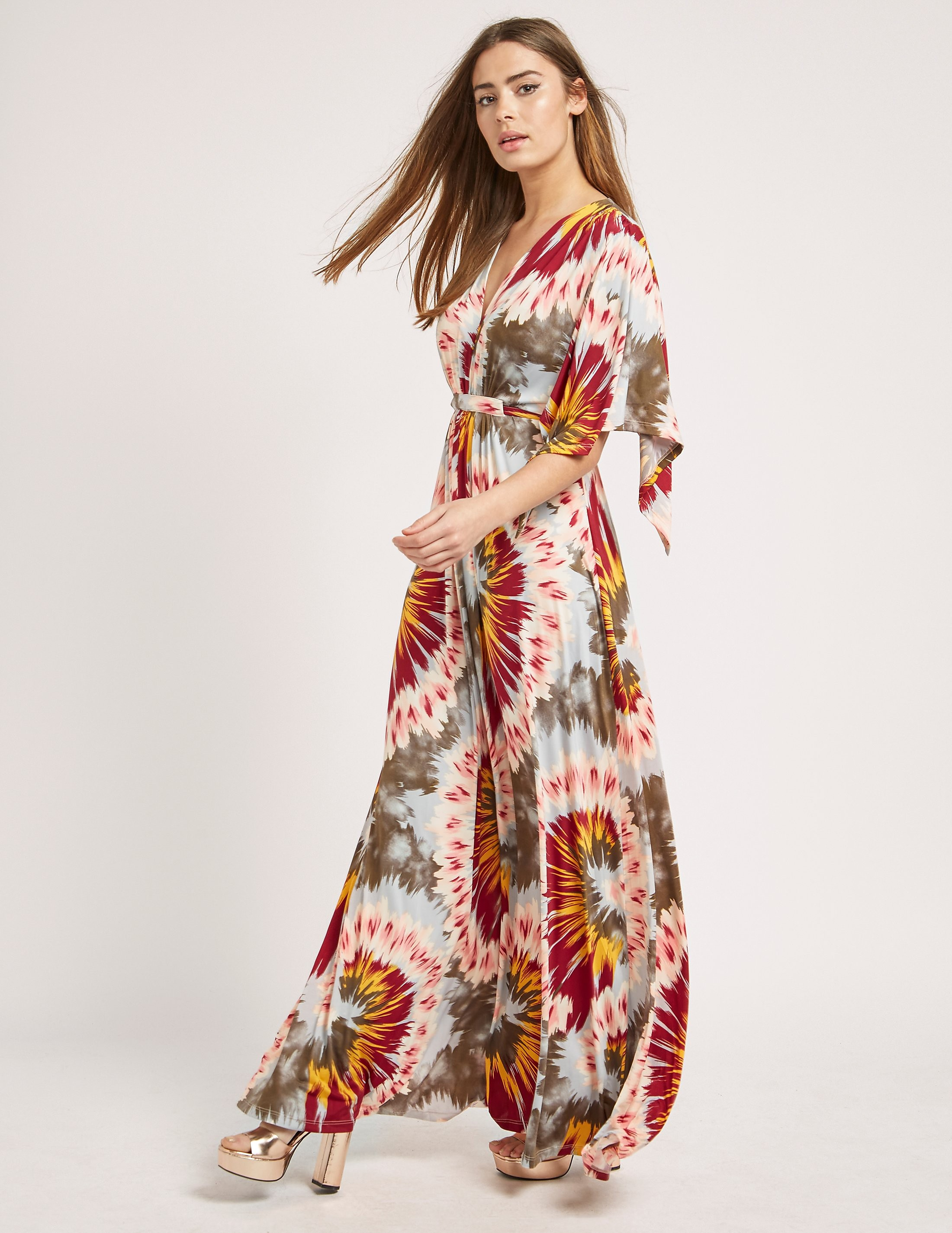 Ilse Jacobsen Nice Paint Boho Maxi Dress