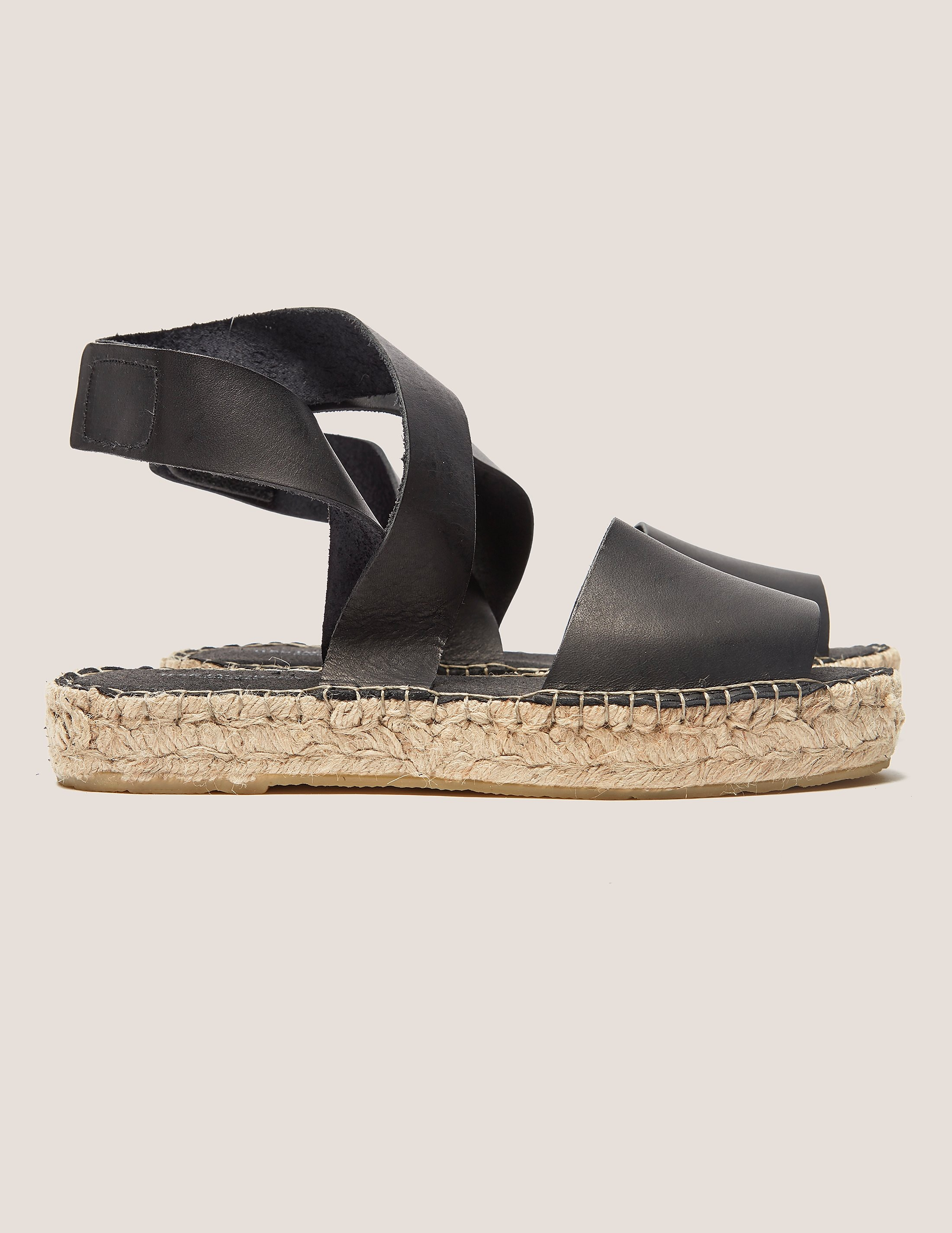 Ilse Jacobsen Leather Espadrilles