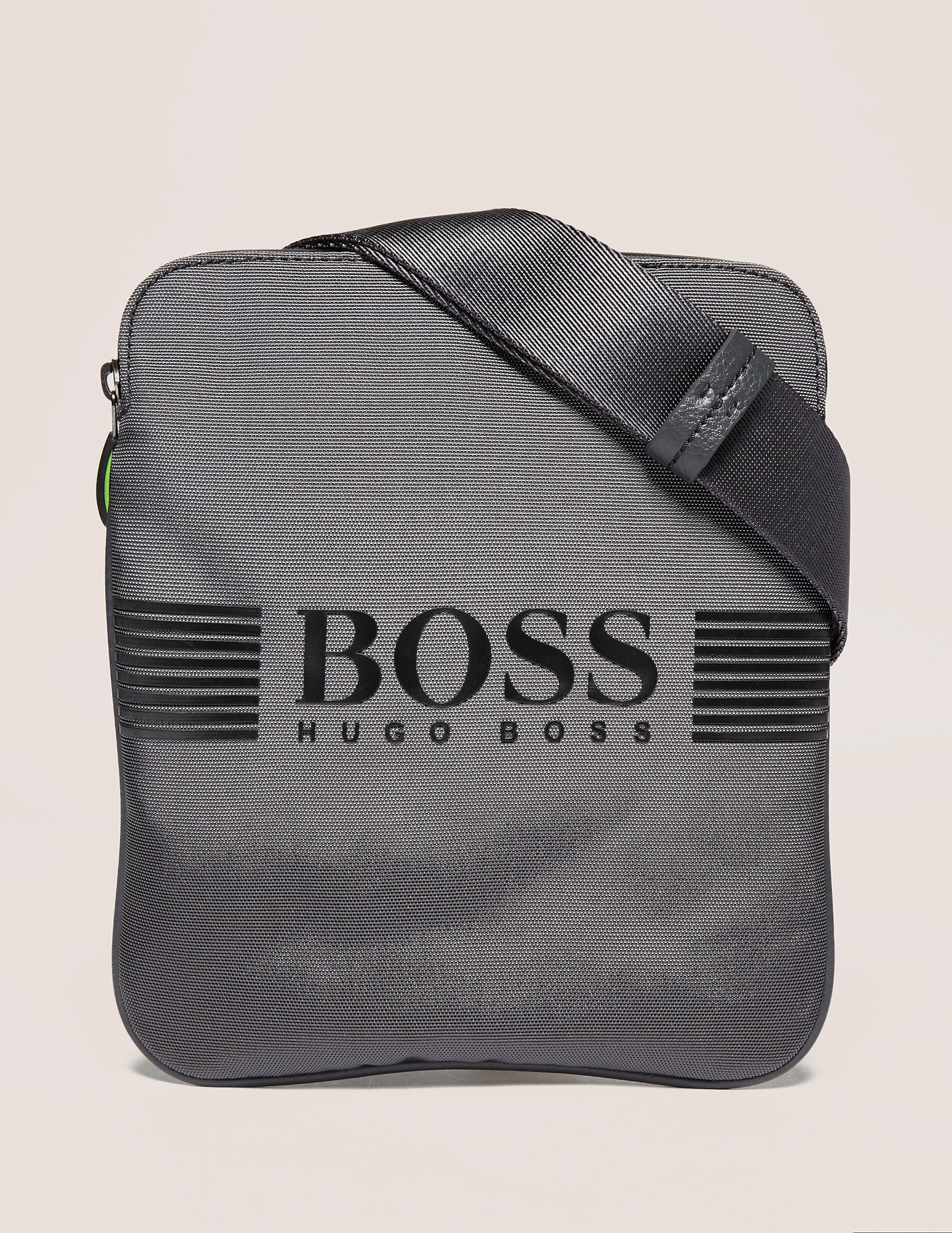 BOSS Green Pixel Stash Bag