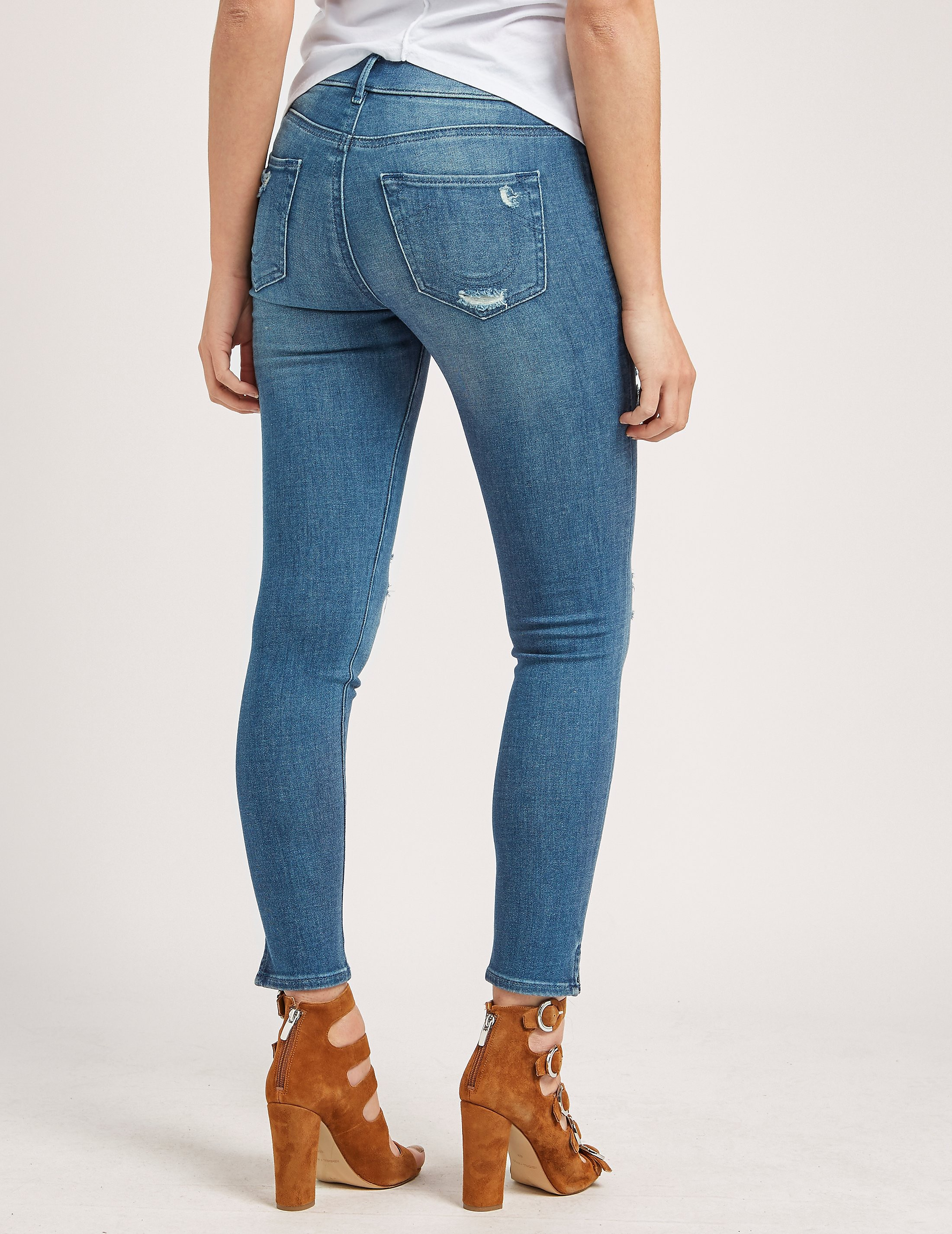 True Religion Runway Cropped Legging