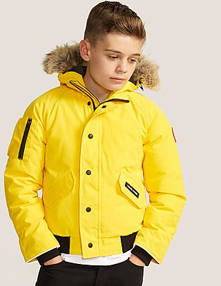 4d1a0c2c6527 canada goose youth rundle bomber jacket
