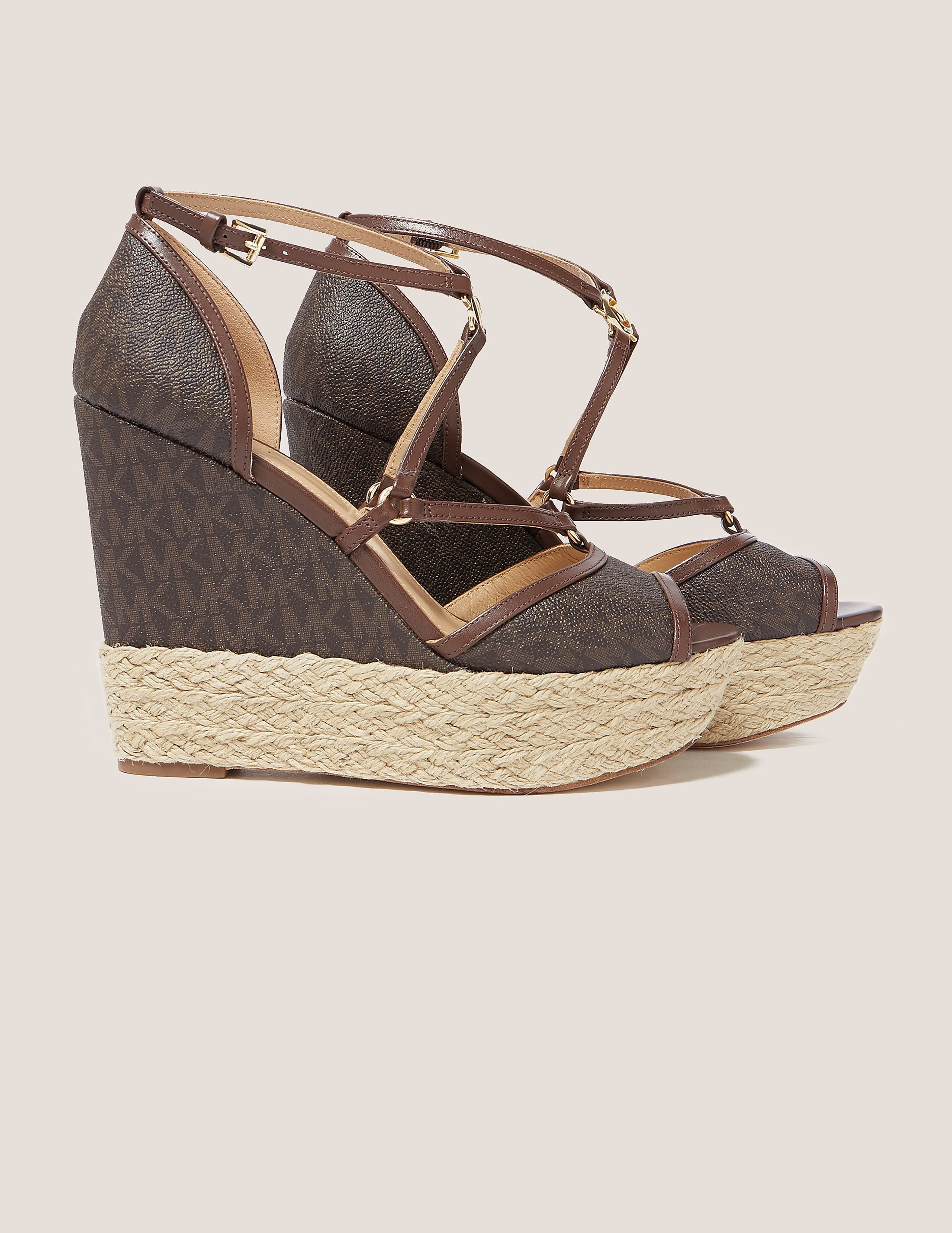 Michael Kors Terri Platform Wedge Sandals