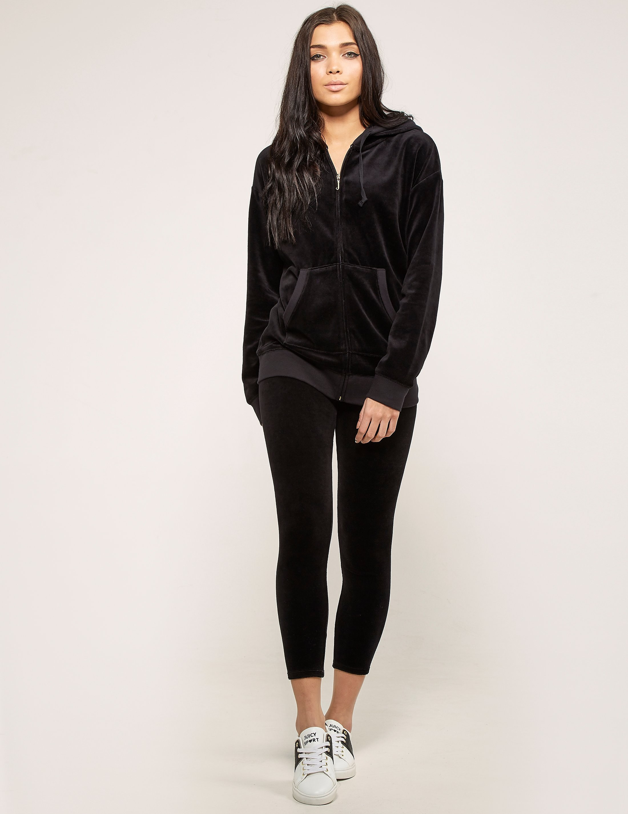 Juicy Couture Relaxed Velour Jacket