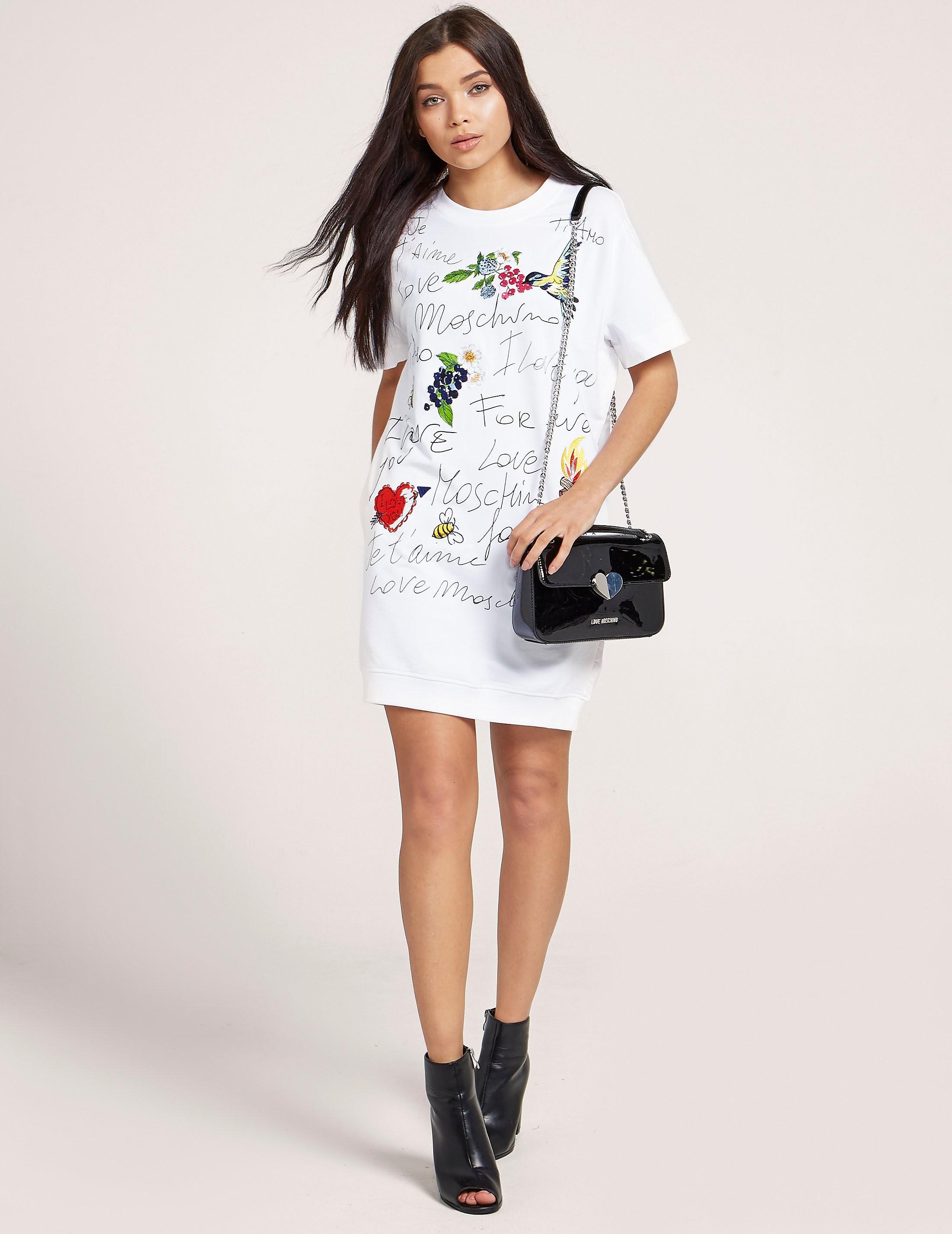 Love Moschino Je'Taime Sweater Dress