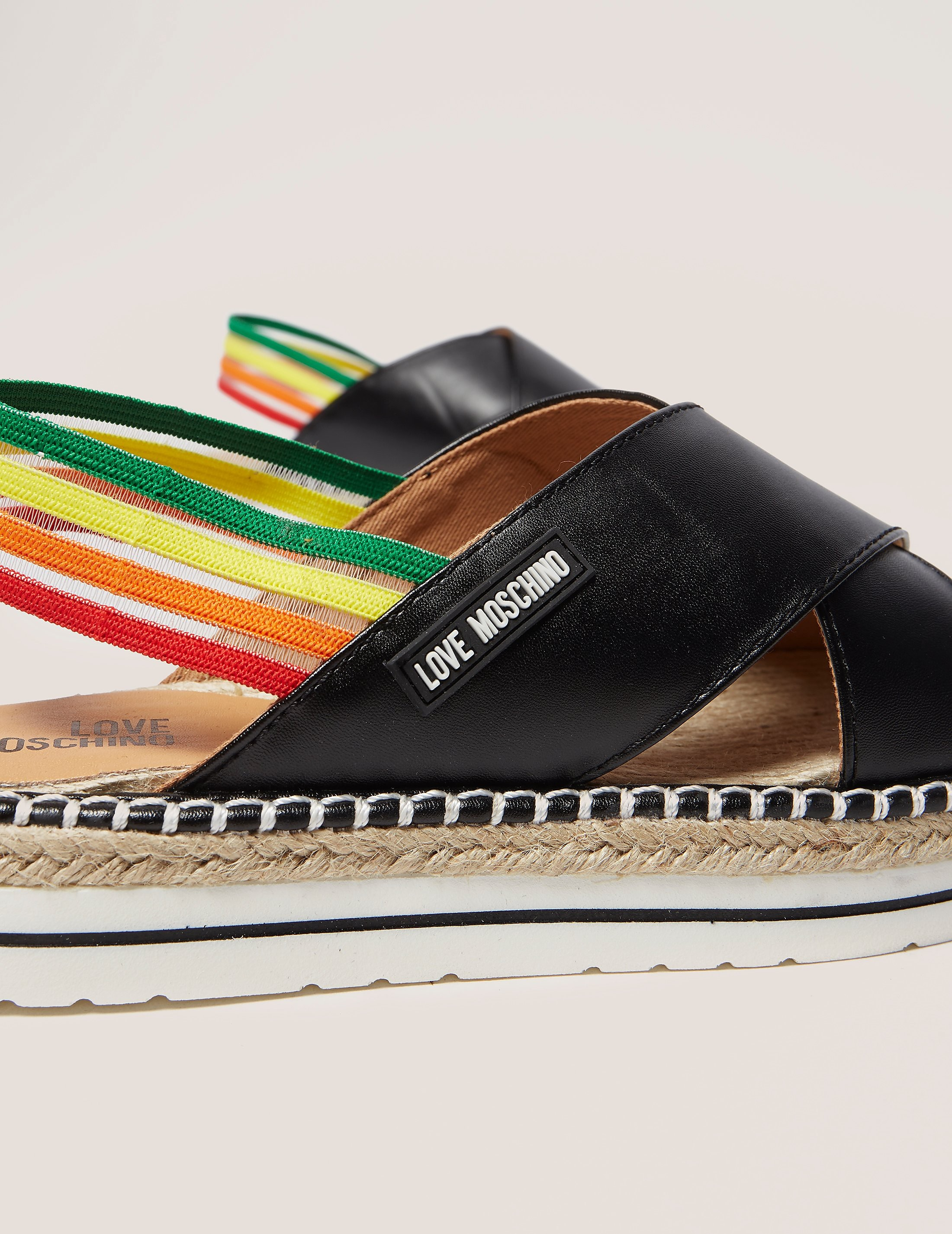 Love Moschino Rainbow Sandals