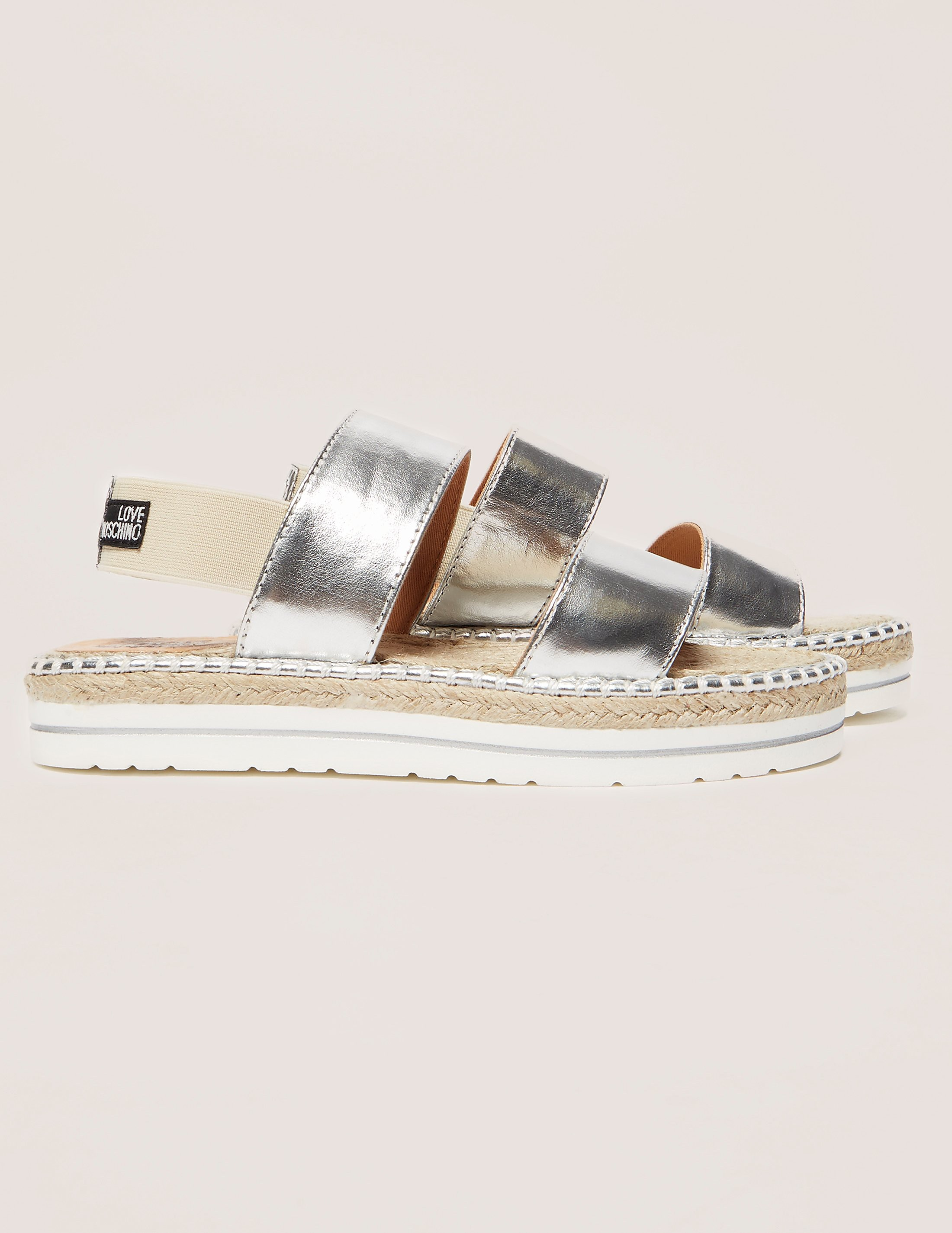 Love Moschino Double Strap Sandals