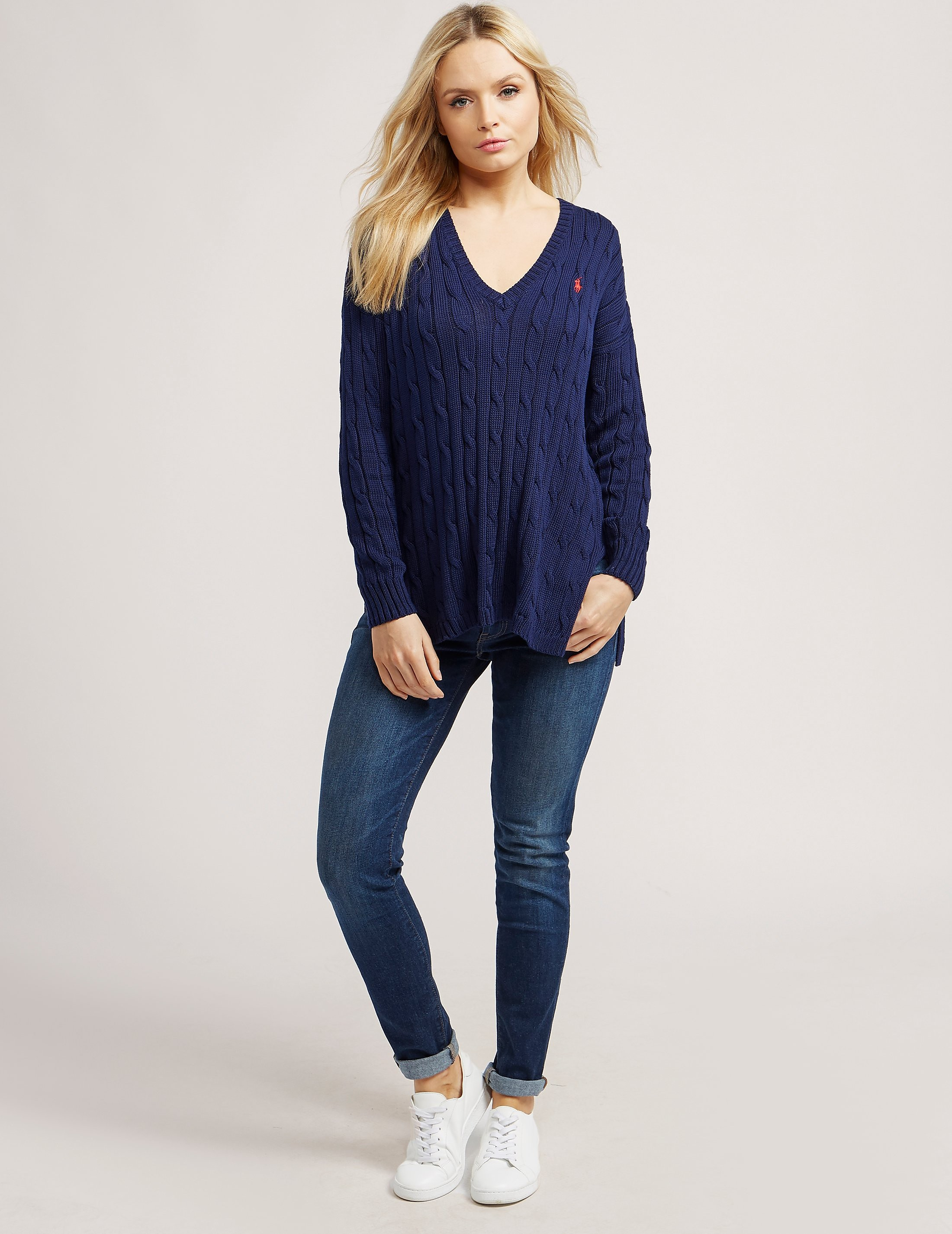 Polo Ralph Lauren Side Slit Knit