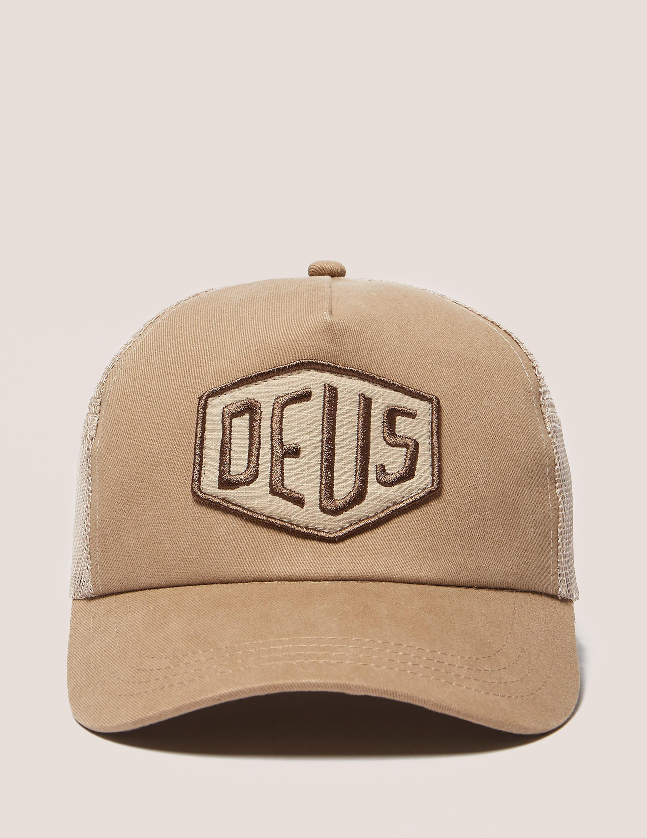 Deus Ex Machina Foxtrot Shield Trucker Hat