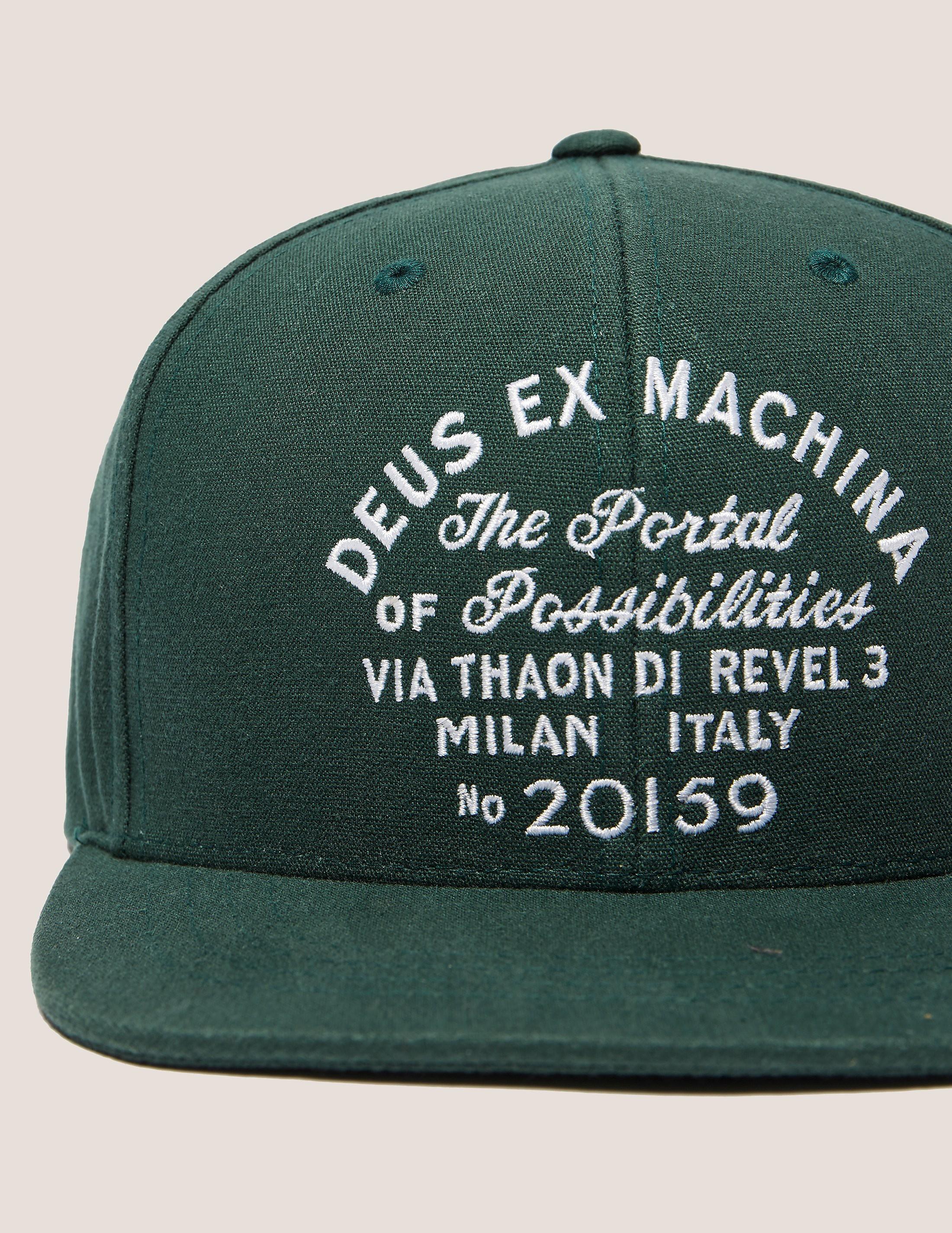Deus Ex Machina Milan Cap