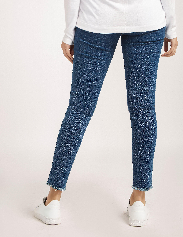 Rag & Bone Skinny Mid Rise Jeans