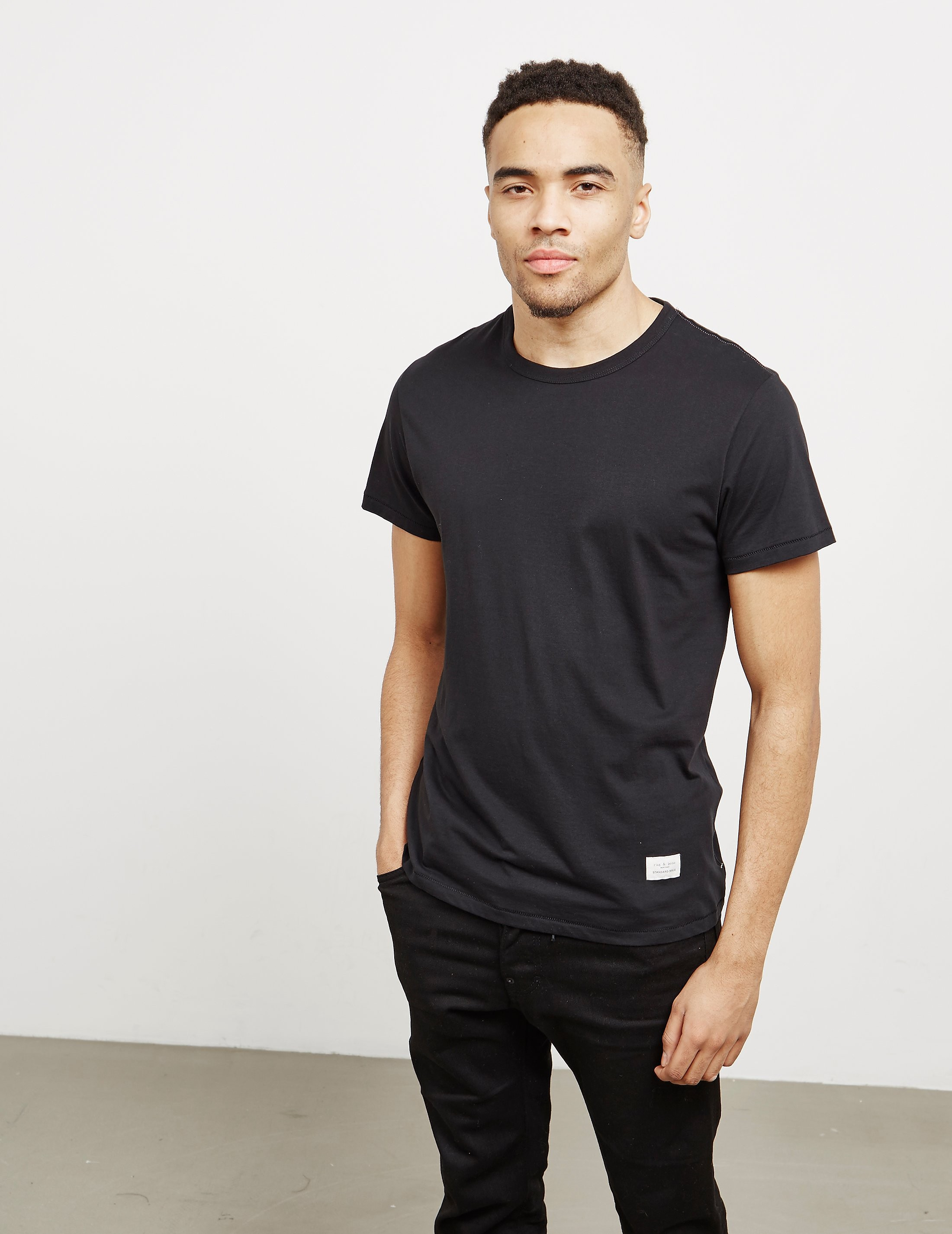 Rag & Bone Crew Neck Short Sleeve T-Shirt
