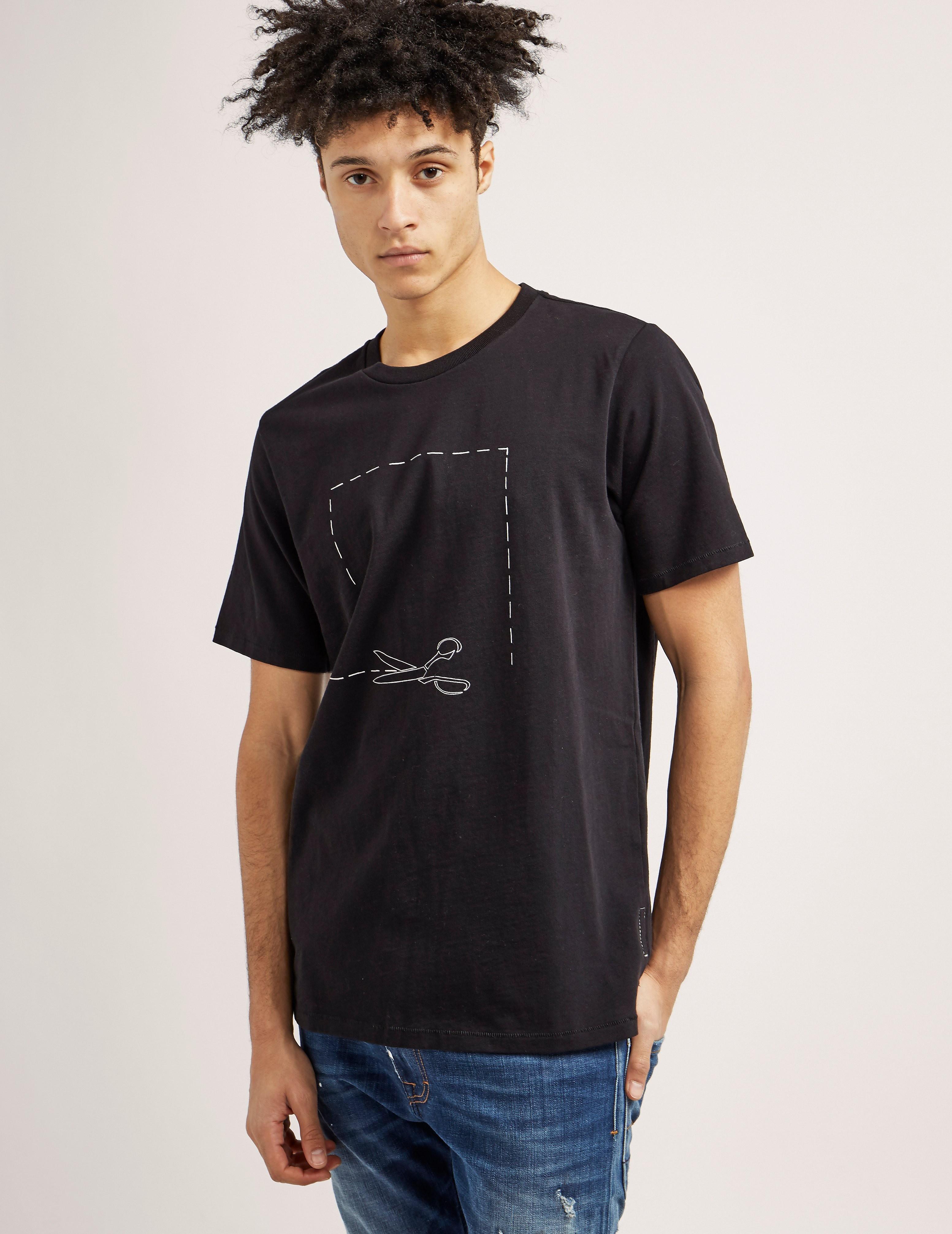 Rag & Bone Short Sleeve Scissor T-Shirt
