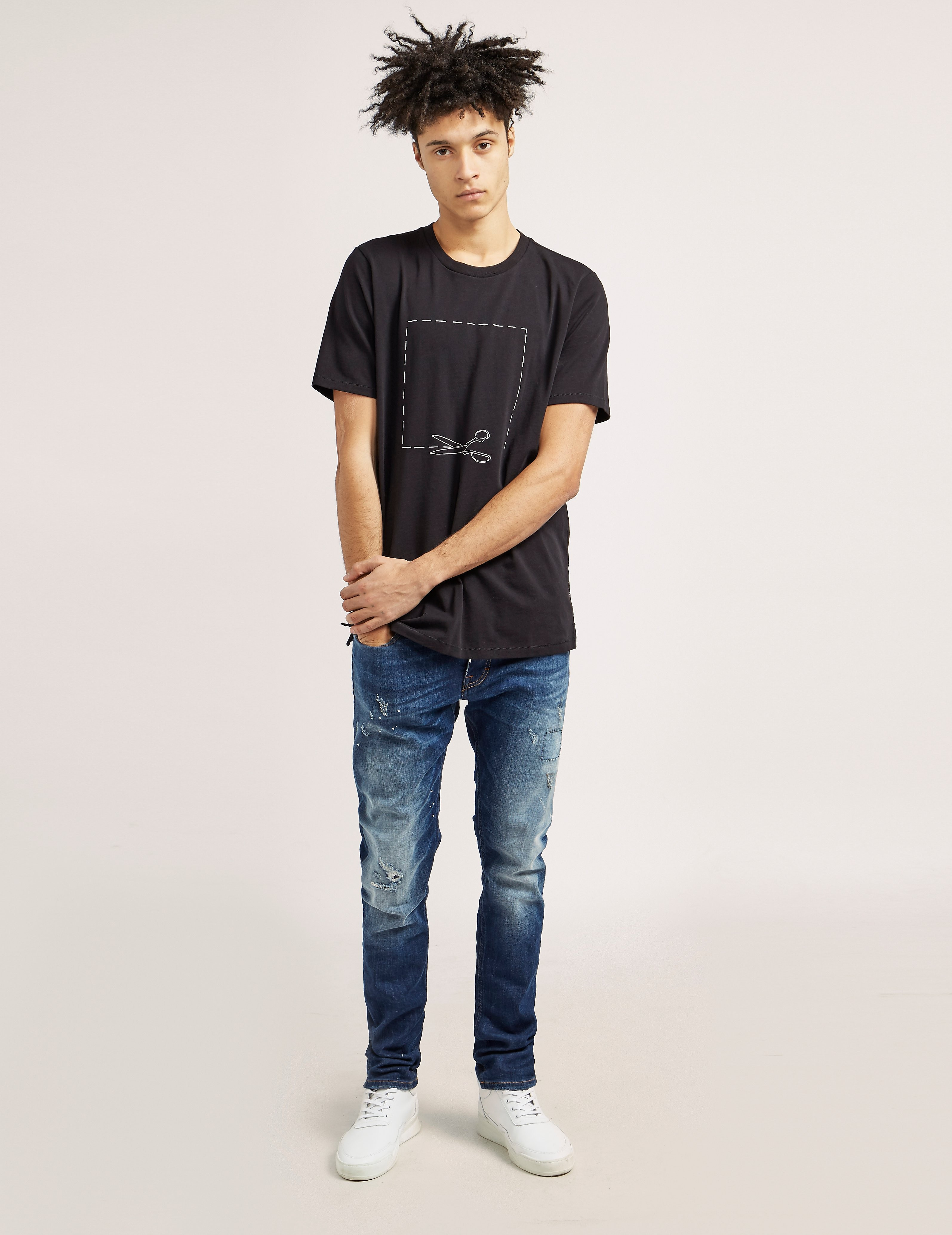 Rag & Bone Short Sleeve Scissor T-Shirt