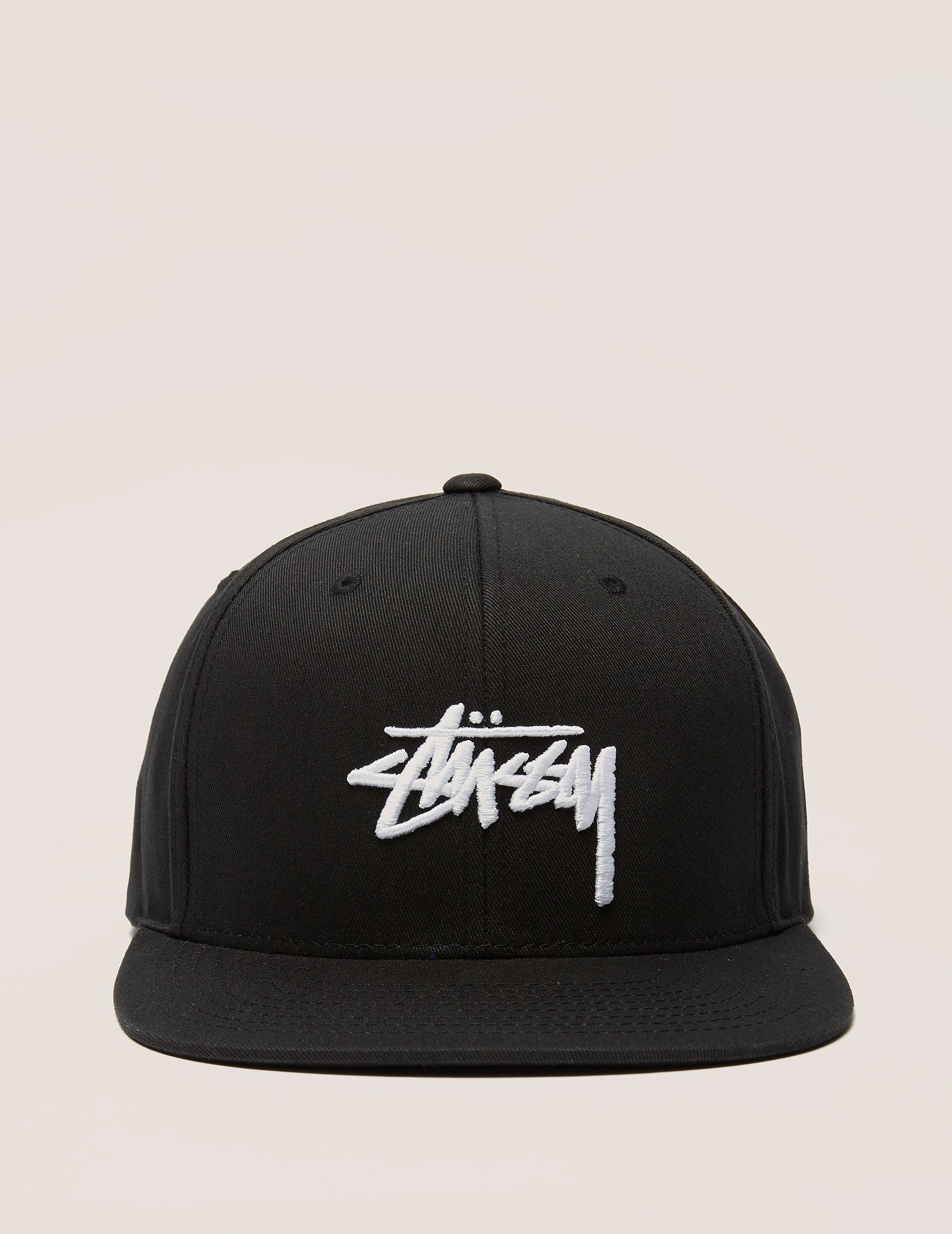 Stussy Stock Logo Snapback Cap
