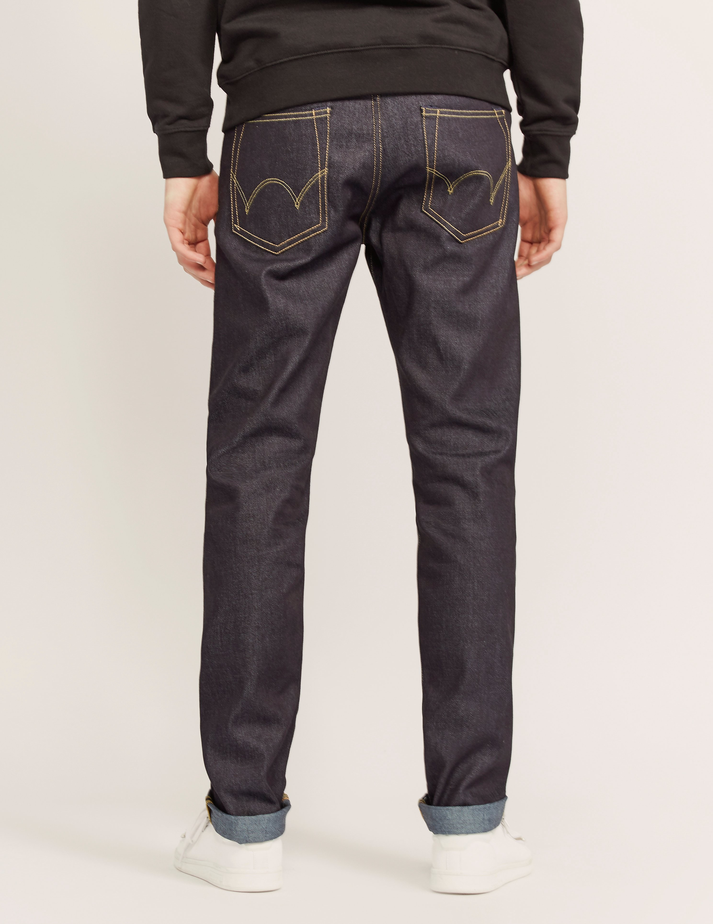 Edwin ED80 Deep Blue Unwashed Jeans