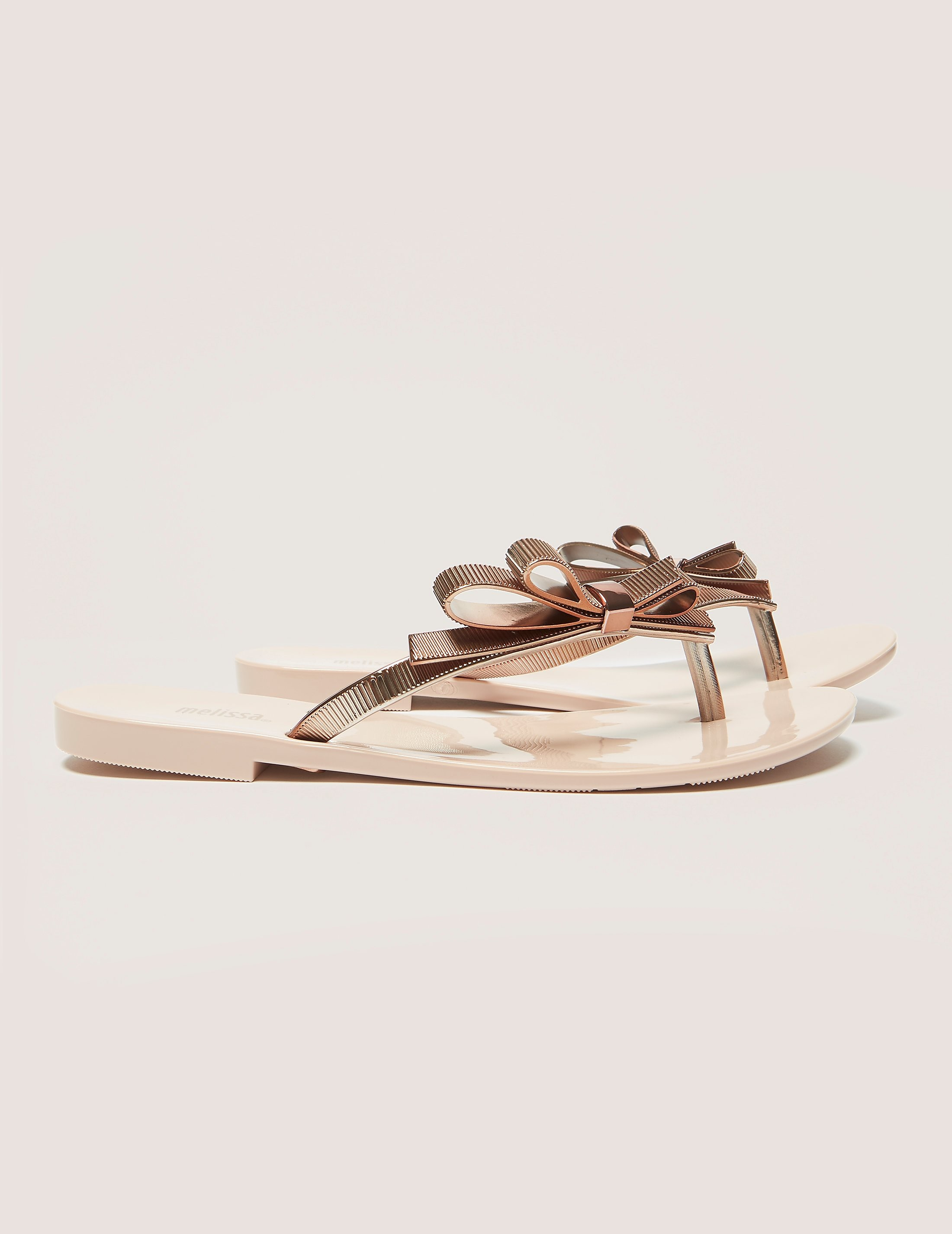 Melissa Chrome Flip Flop