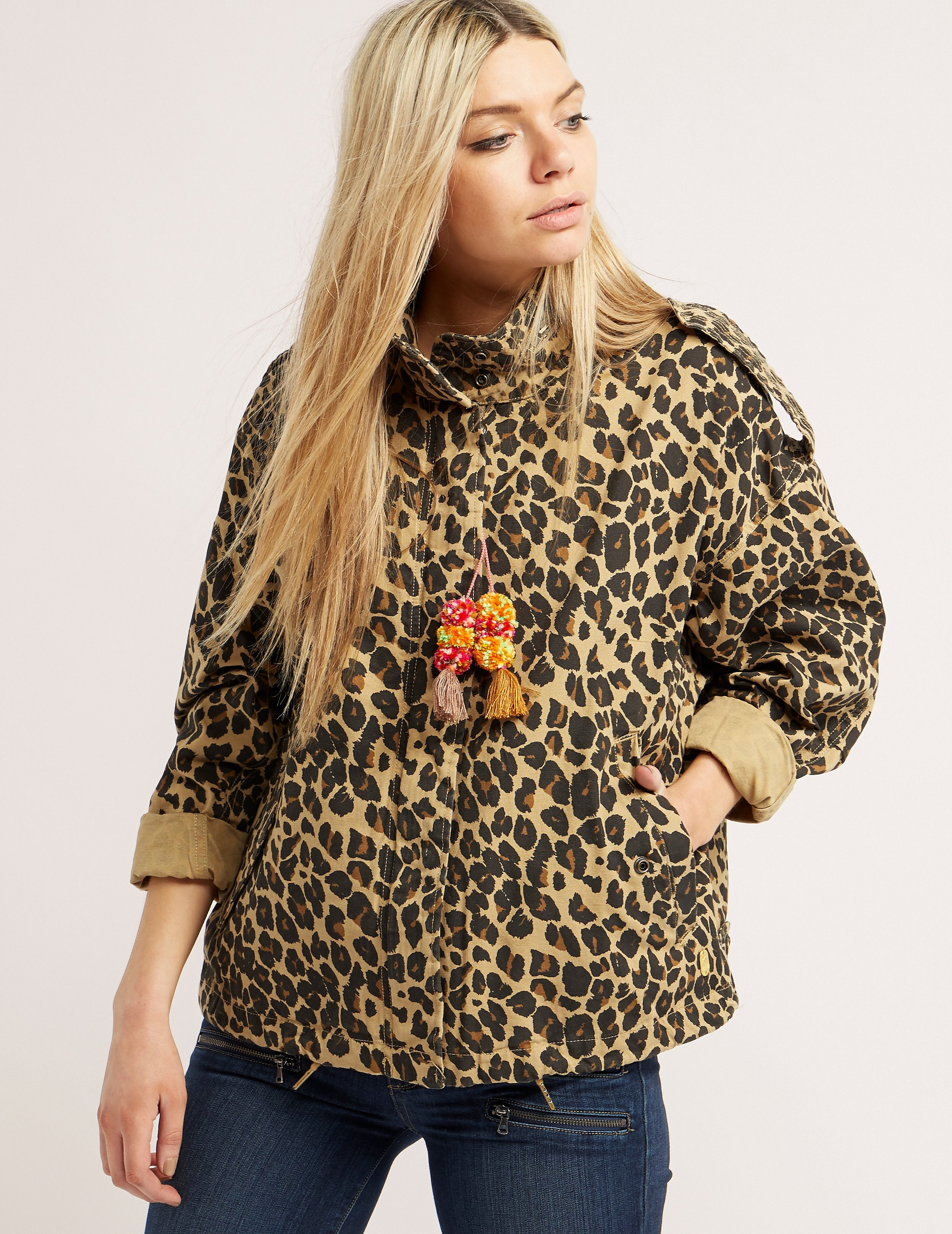 Maison Scotch Leopard Jacket