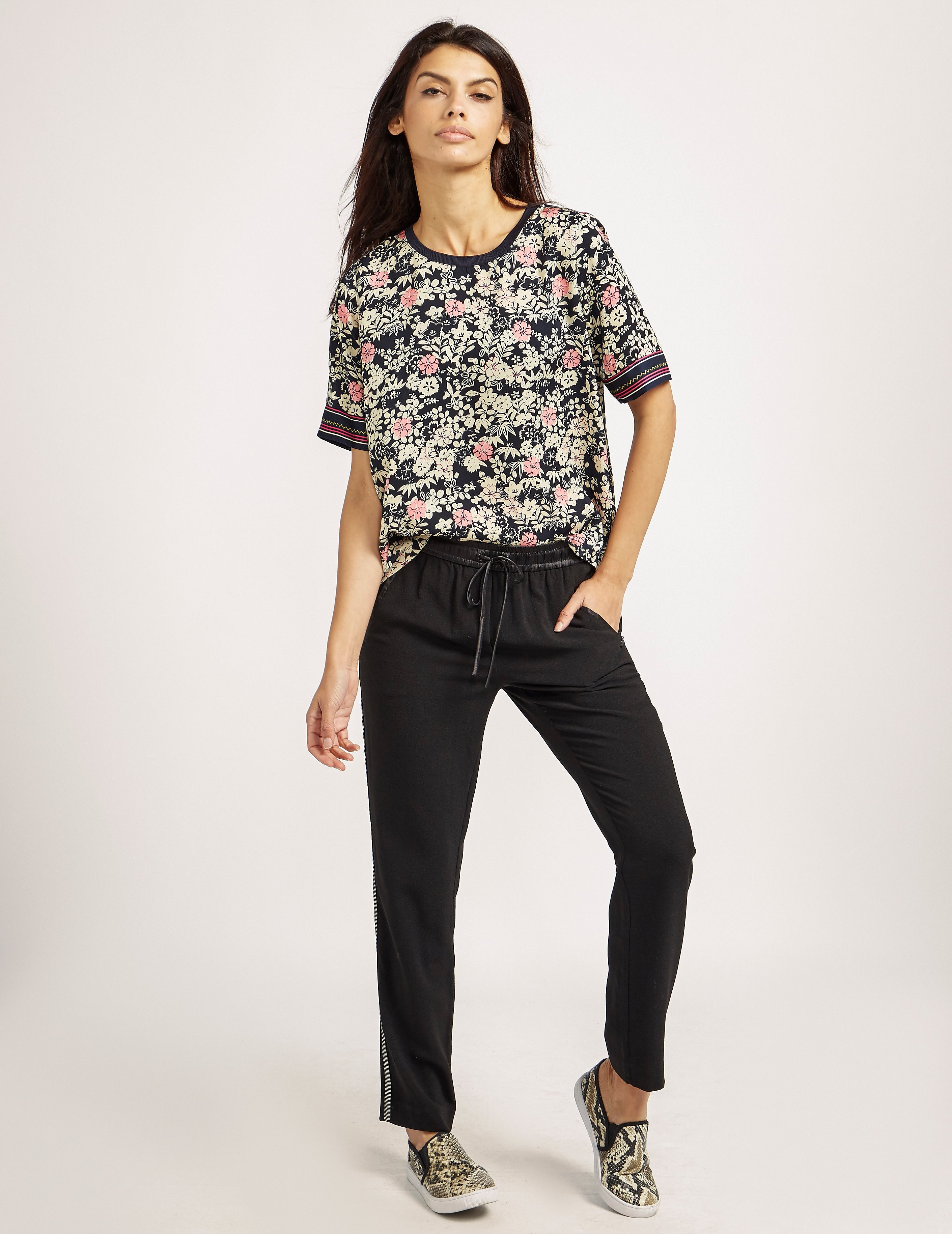 Maison Scotch Printed Top