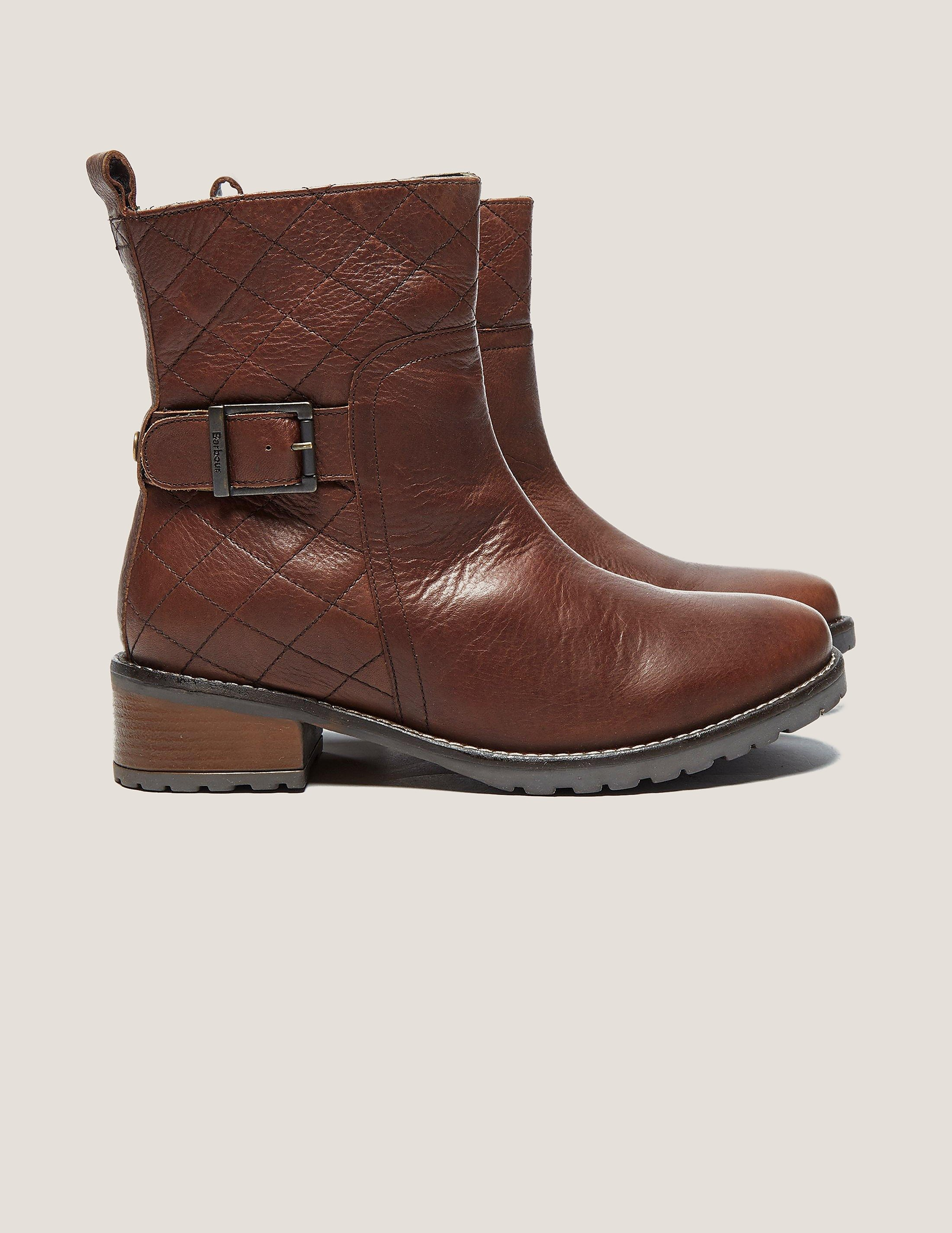 Barbour Quilted Biker Boot