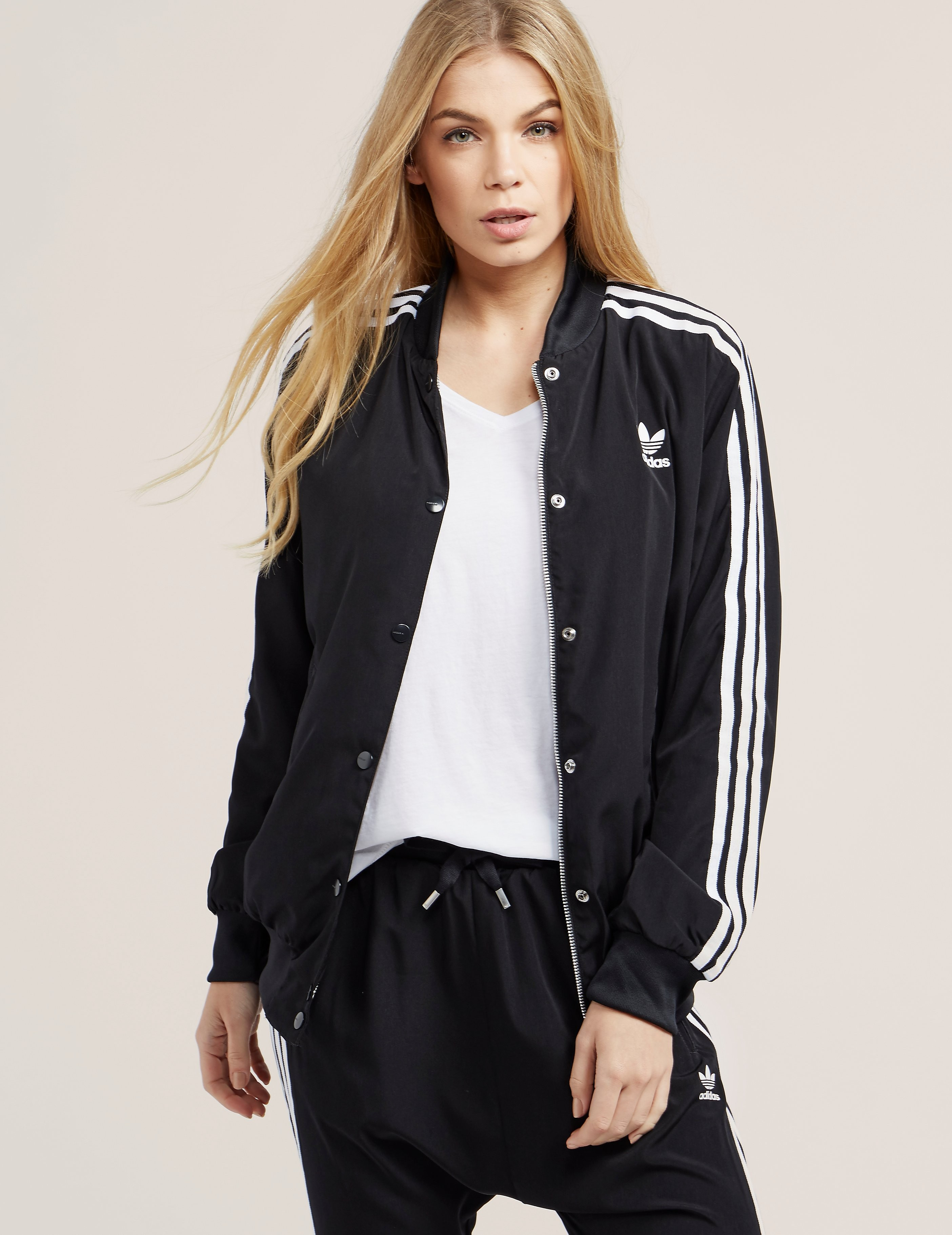 adidas Originals 3-Stripes Bomber Jacket