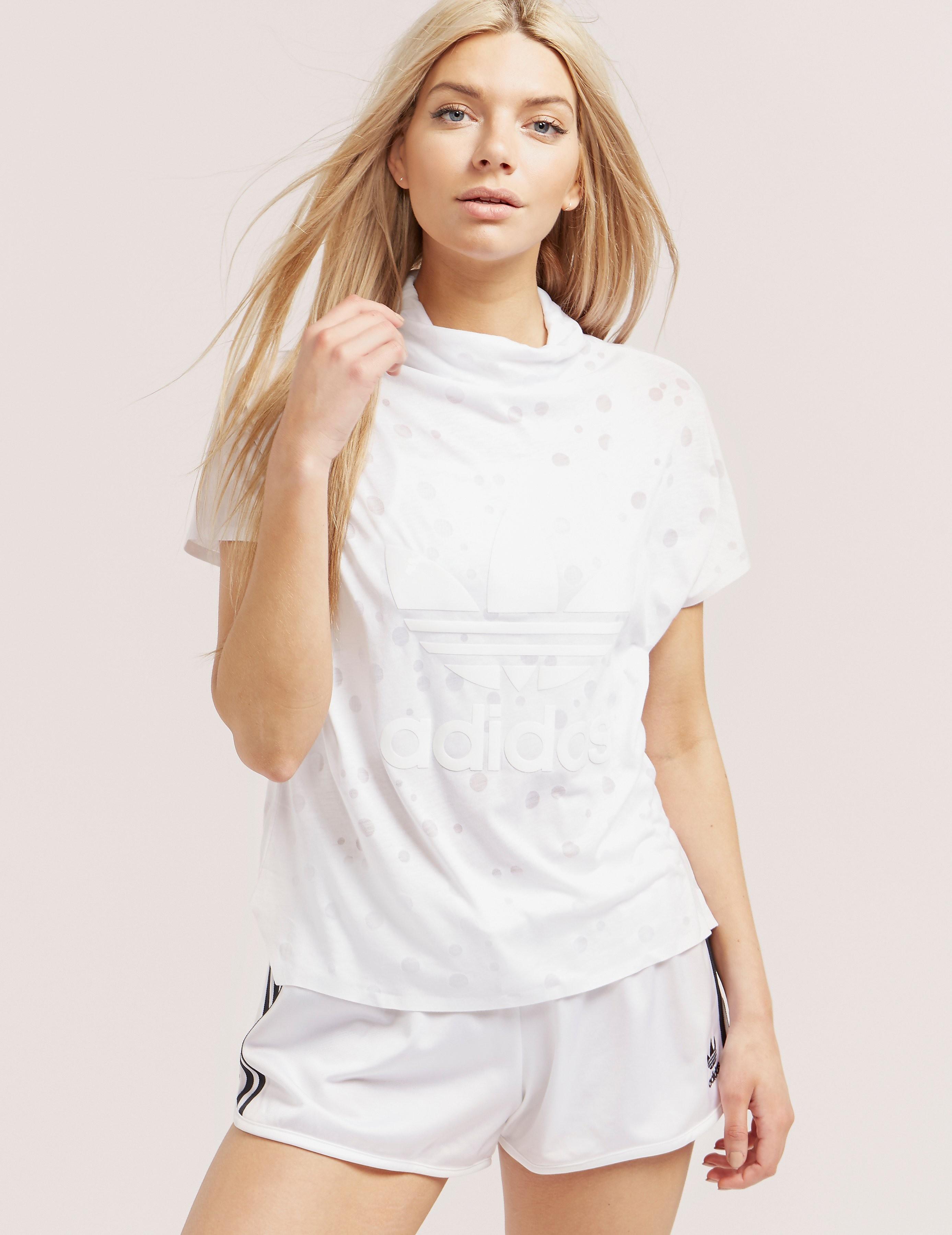 adidas Originals High Collar Spot Short Sleeve T-Shirt