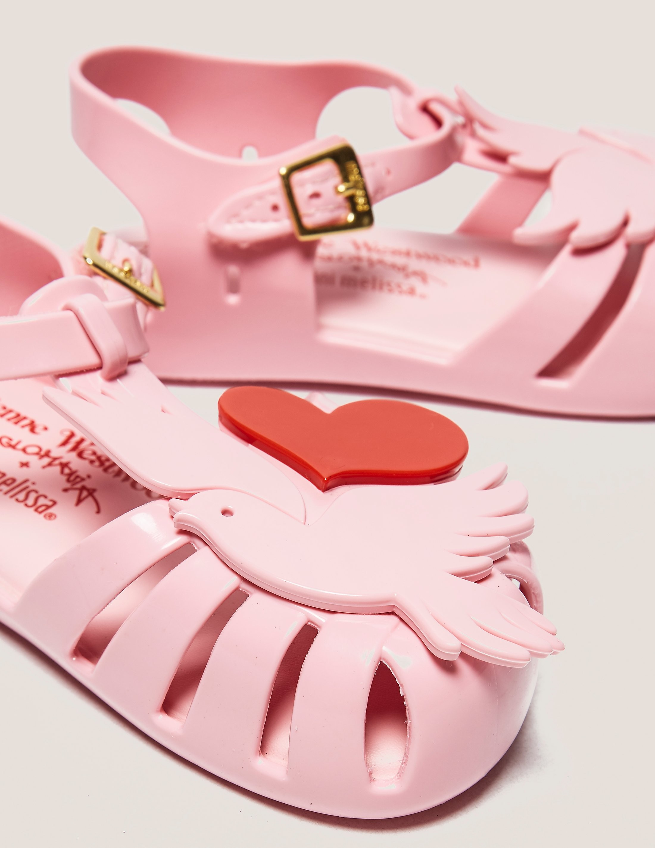 Melissa Mini Dove Sandals