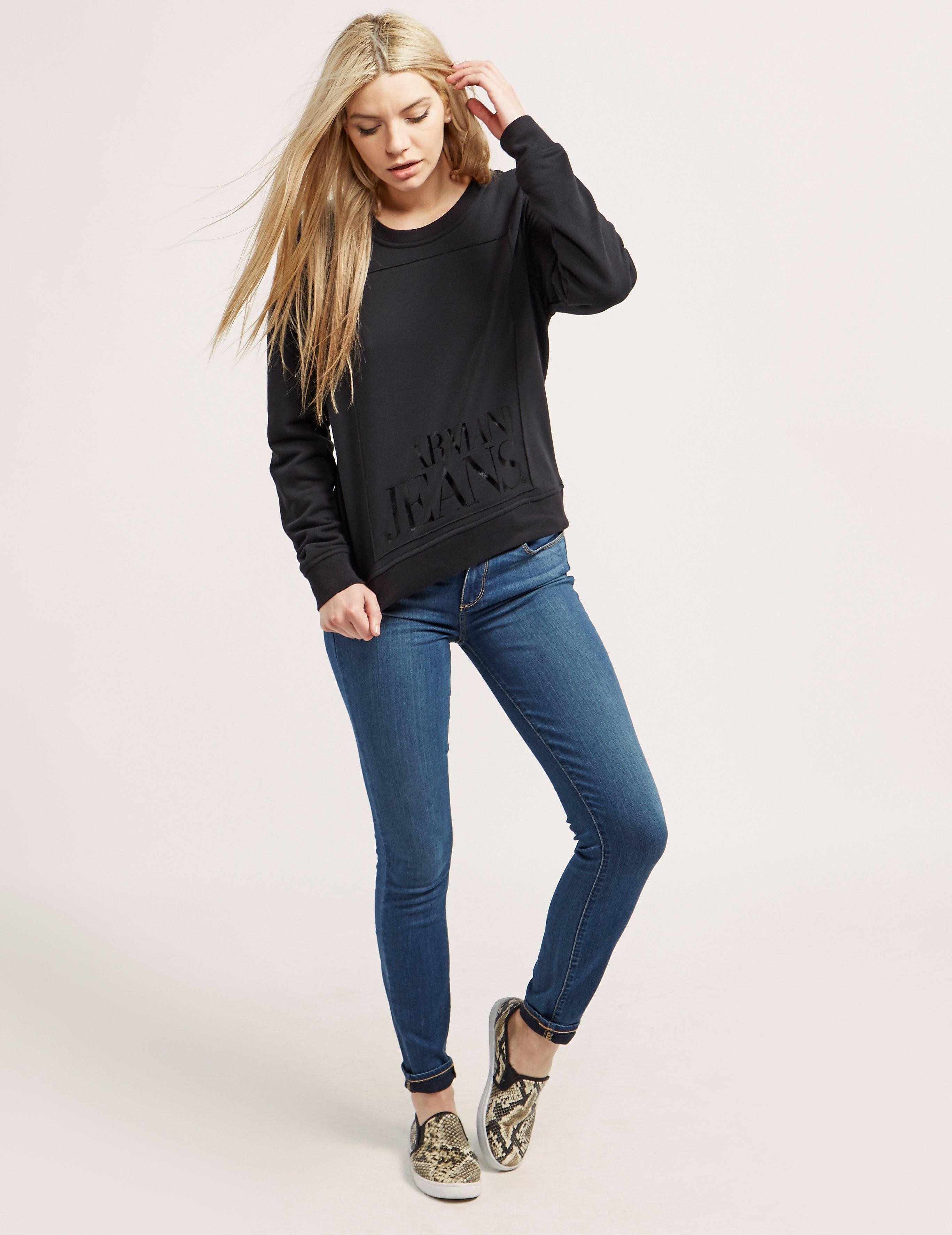 Armani Jeans Crew Sweatshirt