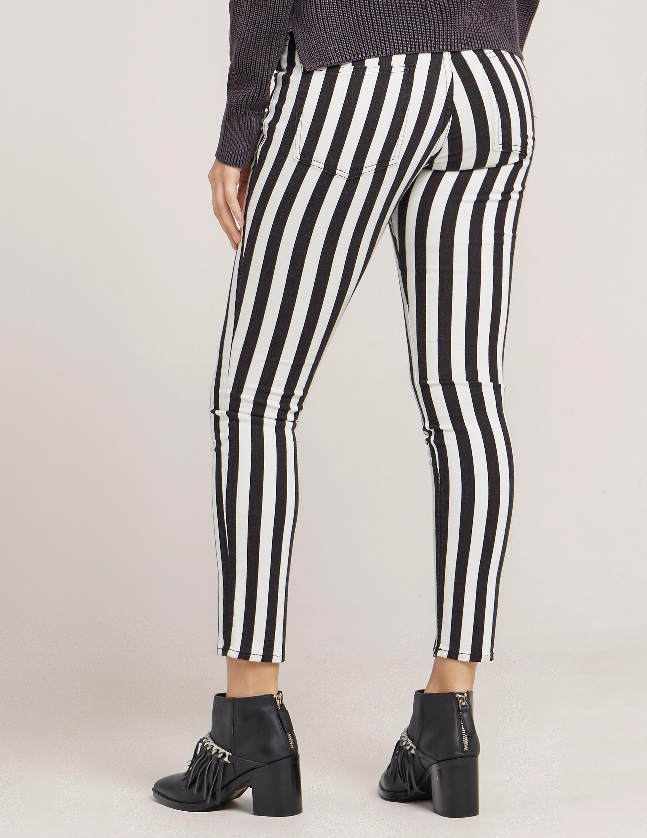 Rag & Bone Stripe Capri