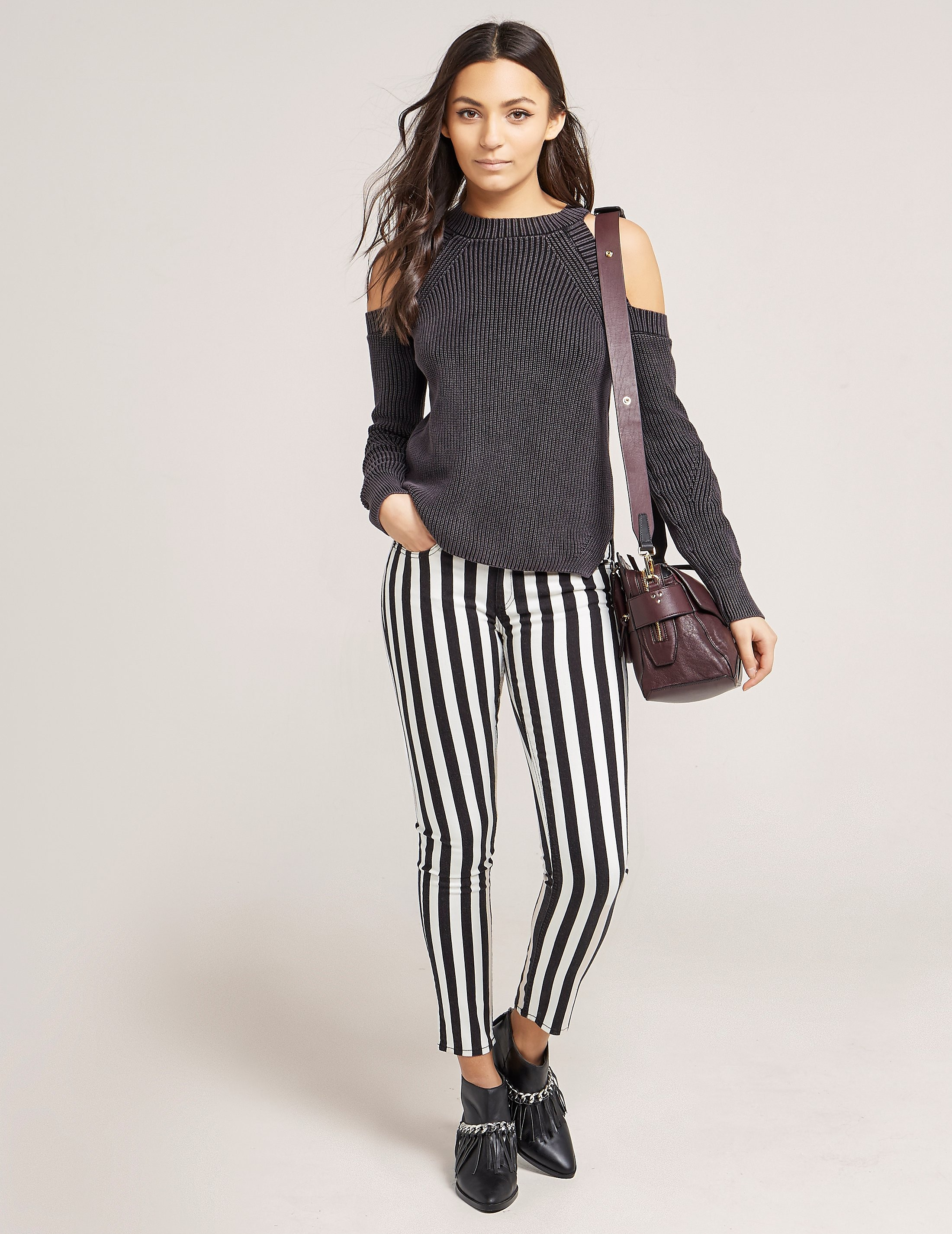 Rag & Bone Stripe Capri