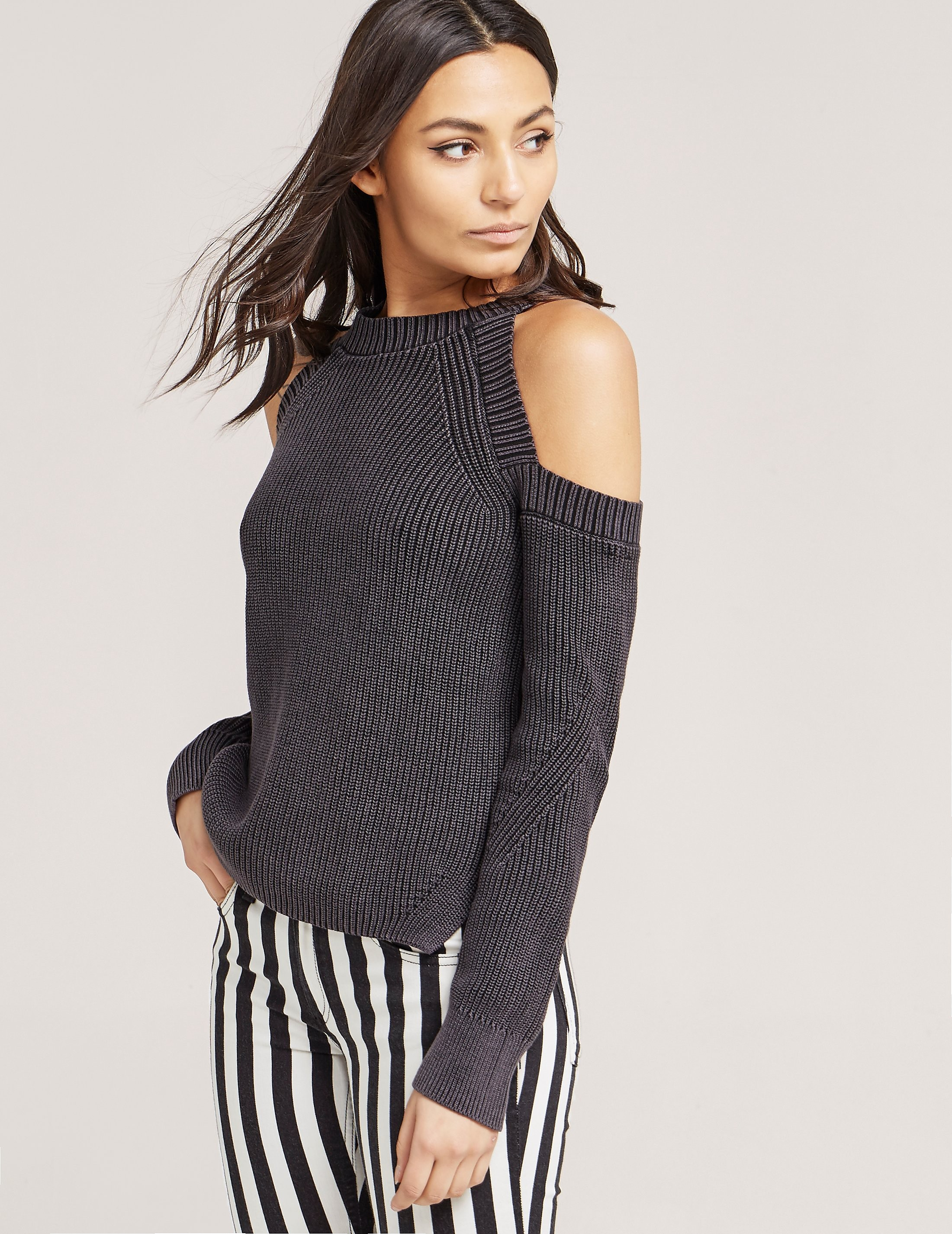 Rag & Bone Dana Cold Shoulder Knit