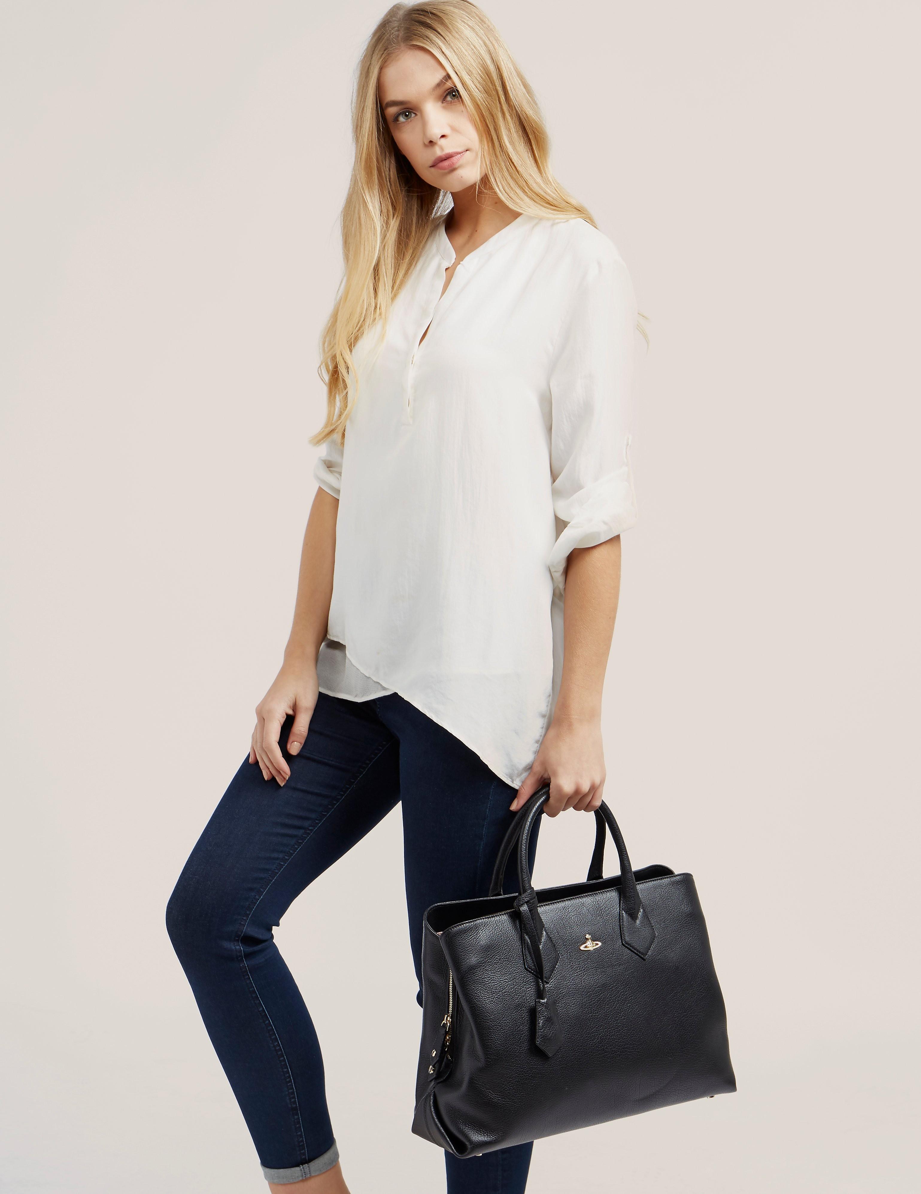 Vivienne Westwood Balmoral Shopper Bag