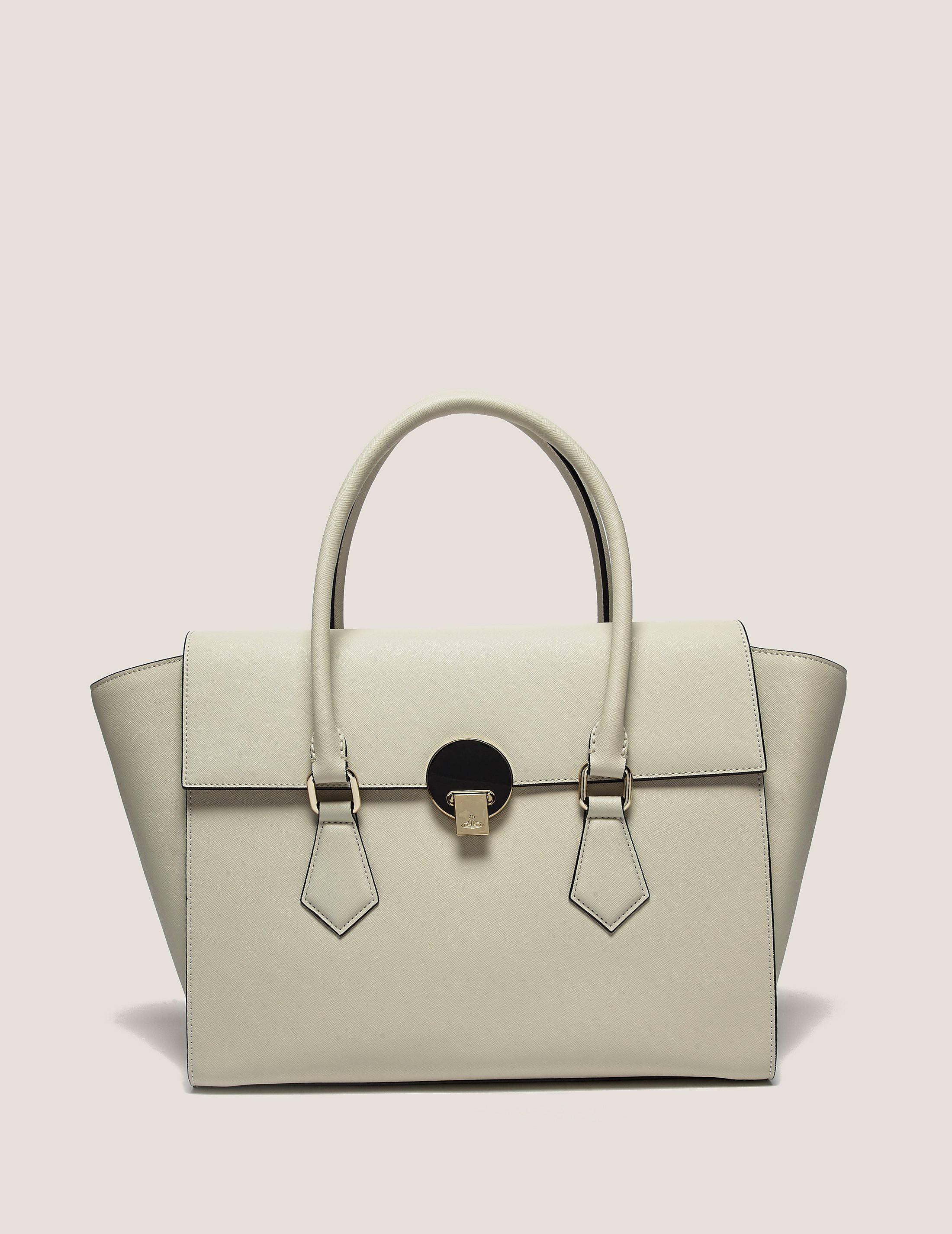 Vivienne Westwood Opio Saffiano Large Bag