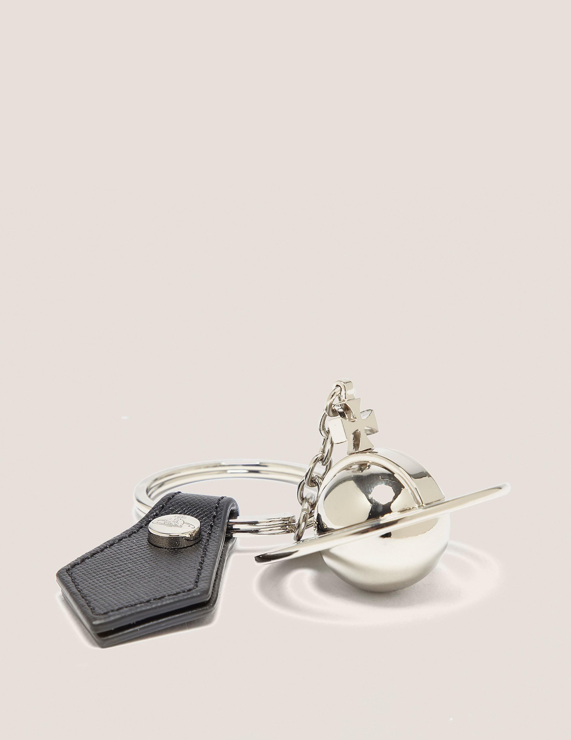 Vivienne Westwood Silver Orb Keyring