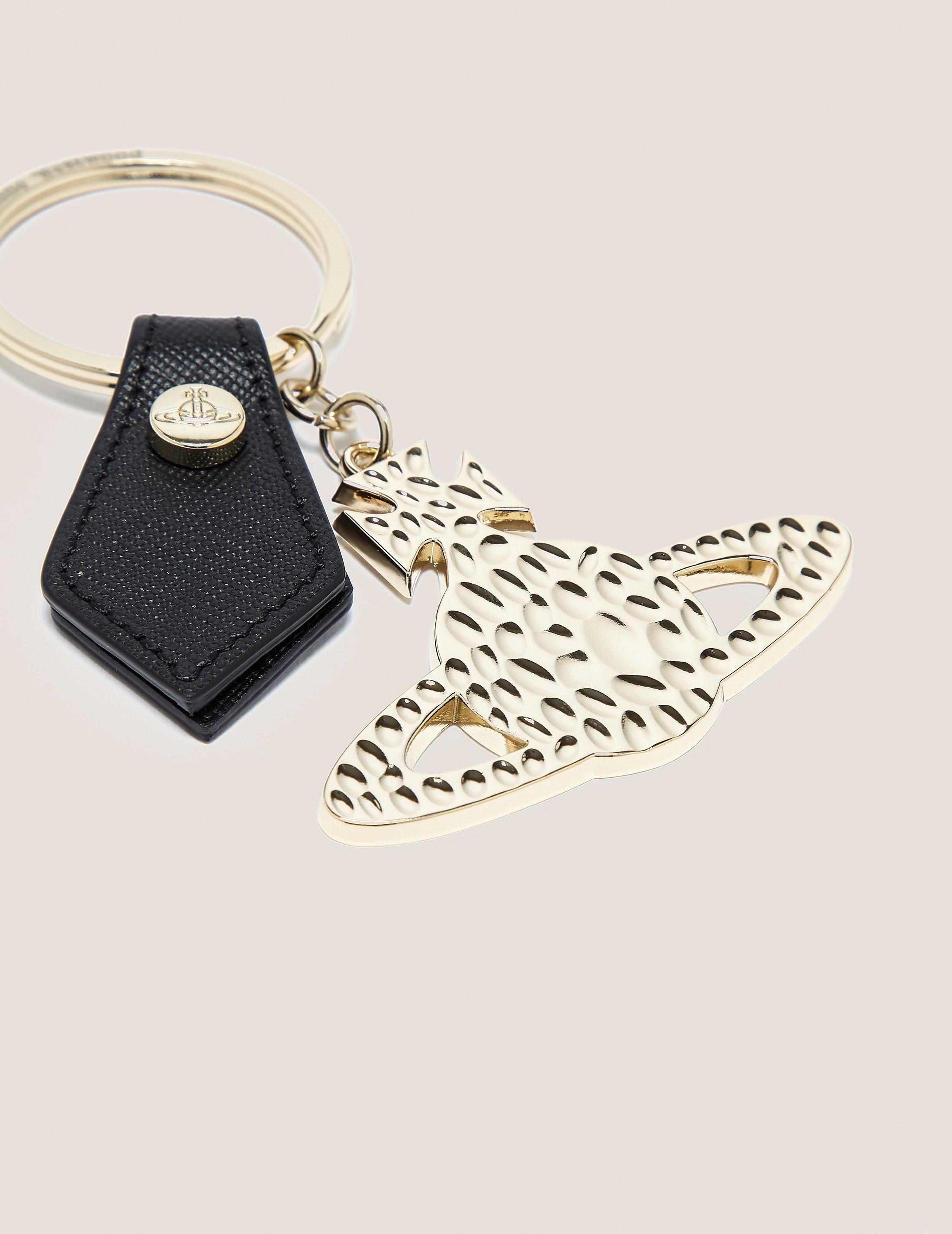 Vivienne Westwood Gold Orb Keyring
